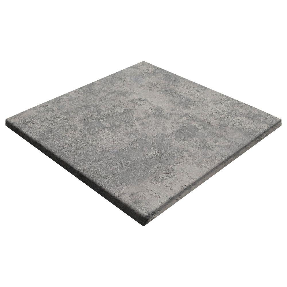 sm france square table top concrete