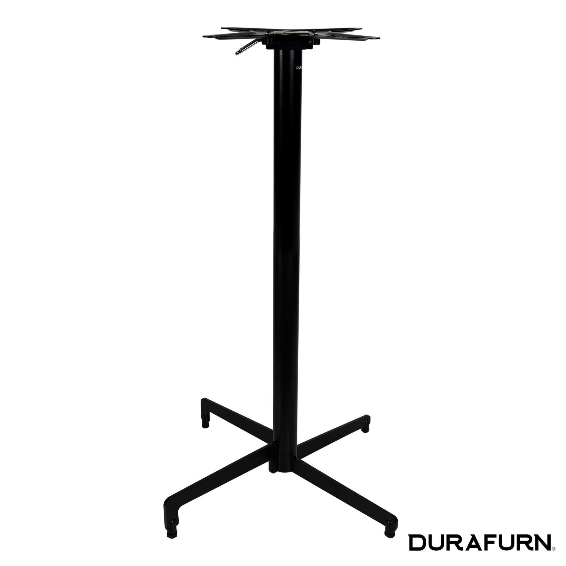 berlin folding bar table base black 1