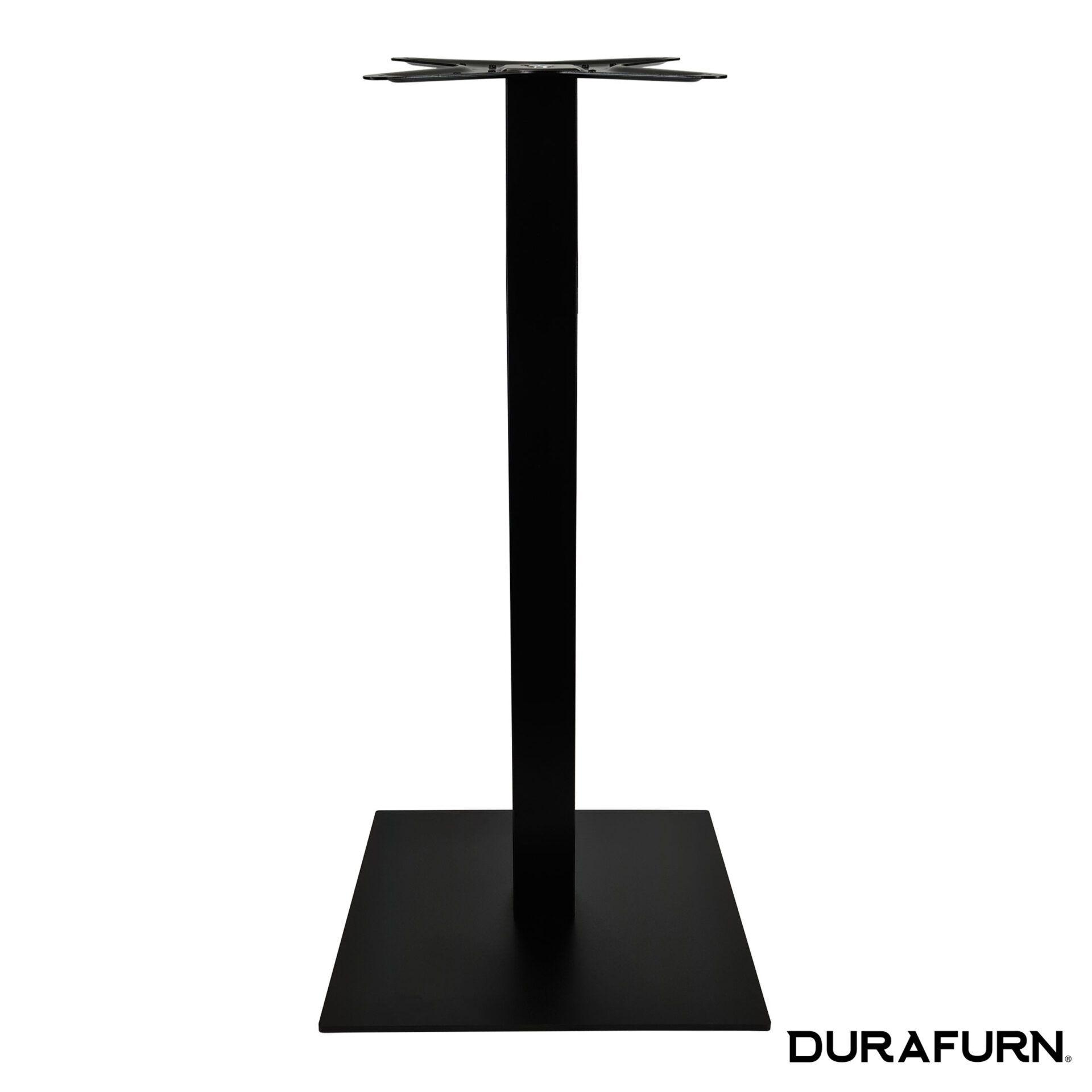 calais bar table base black