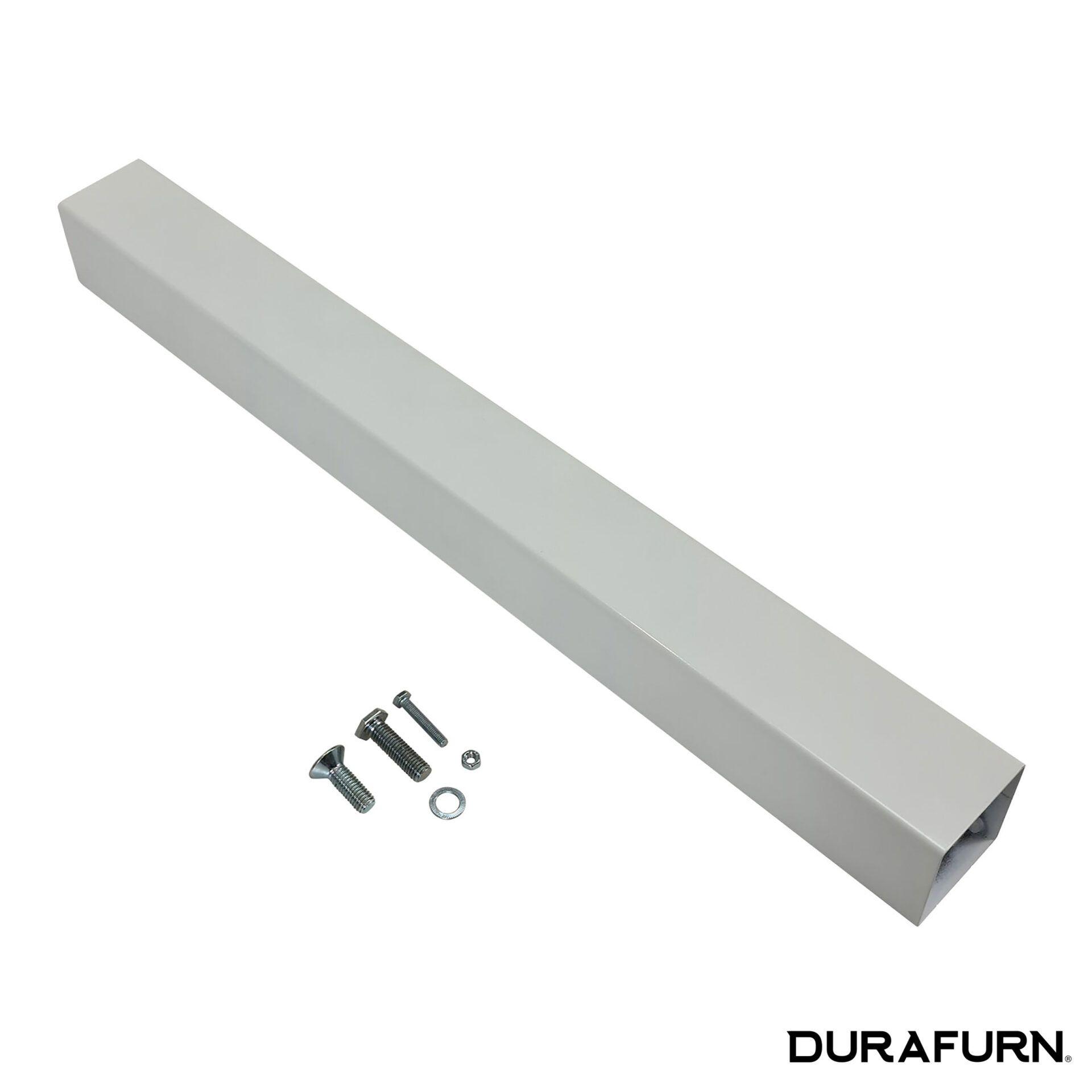 calais table base white.pole .parts 1