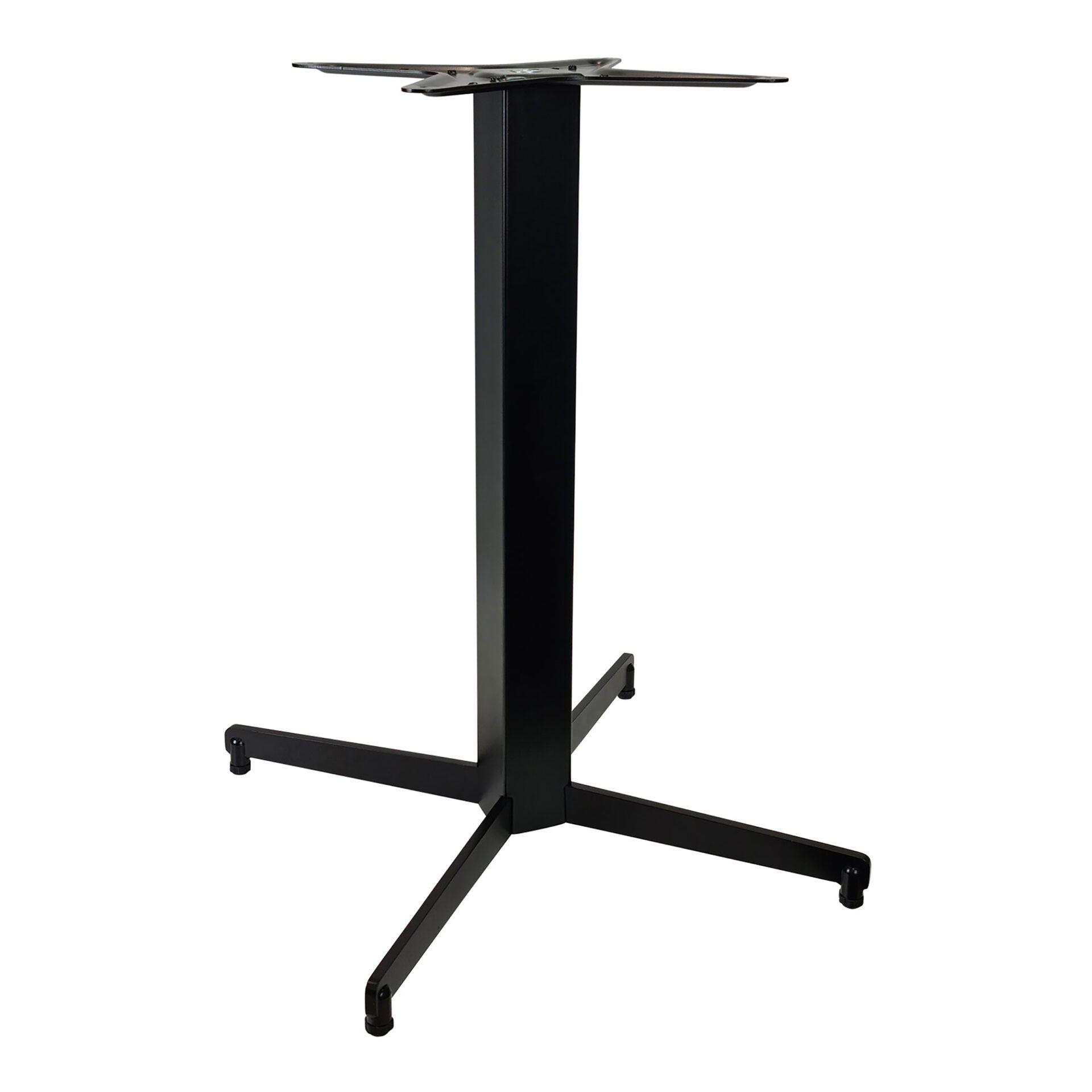 dublin table base black.angle .side