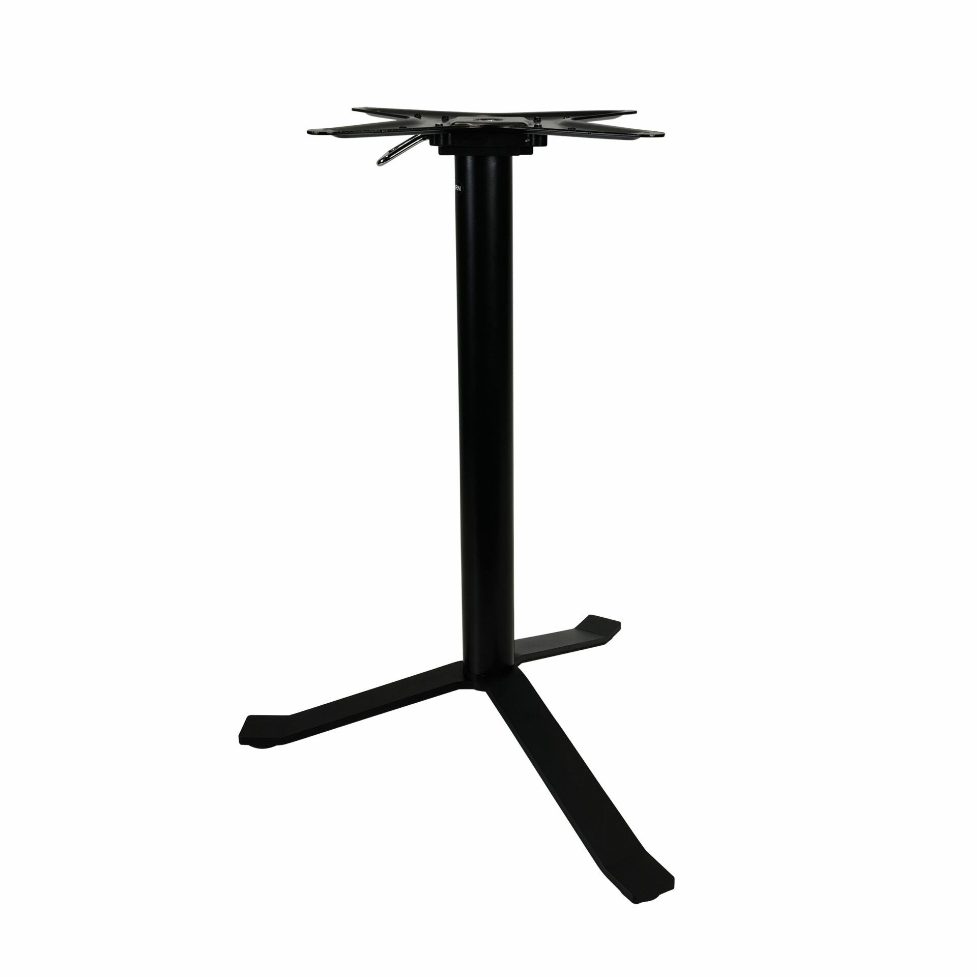 geneva folding table base.closed front