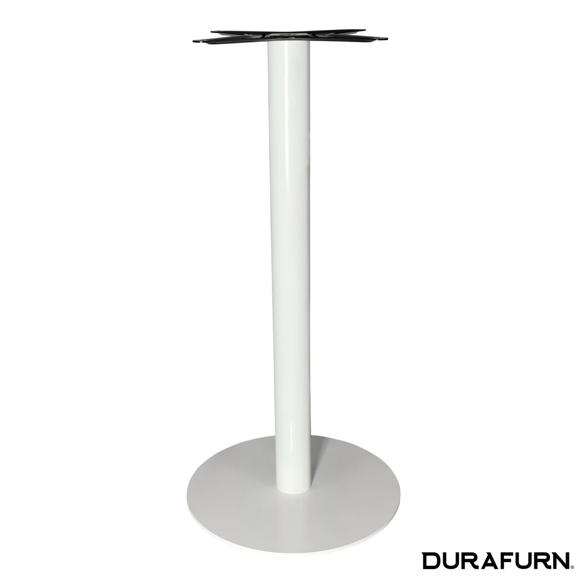lyon bar table base white