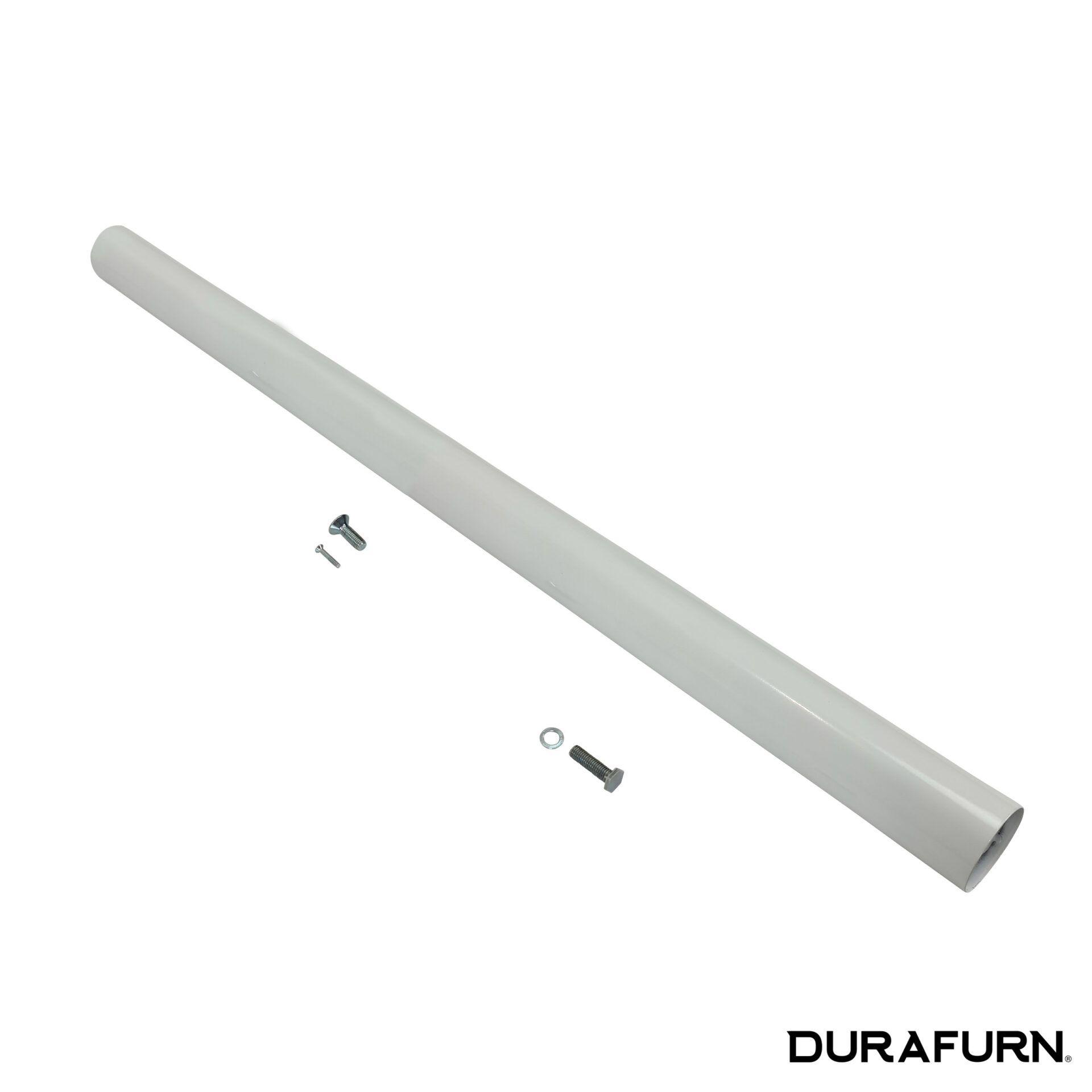 lyon bar table base white.pole .parts