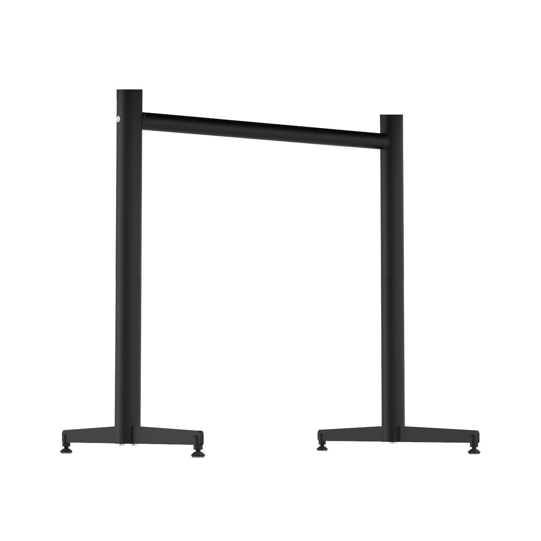 part stockholm twin bar base round tube black