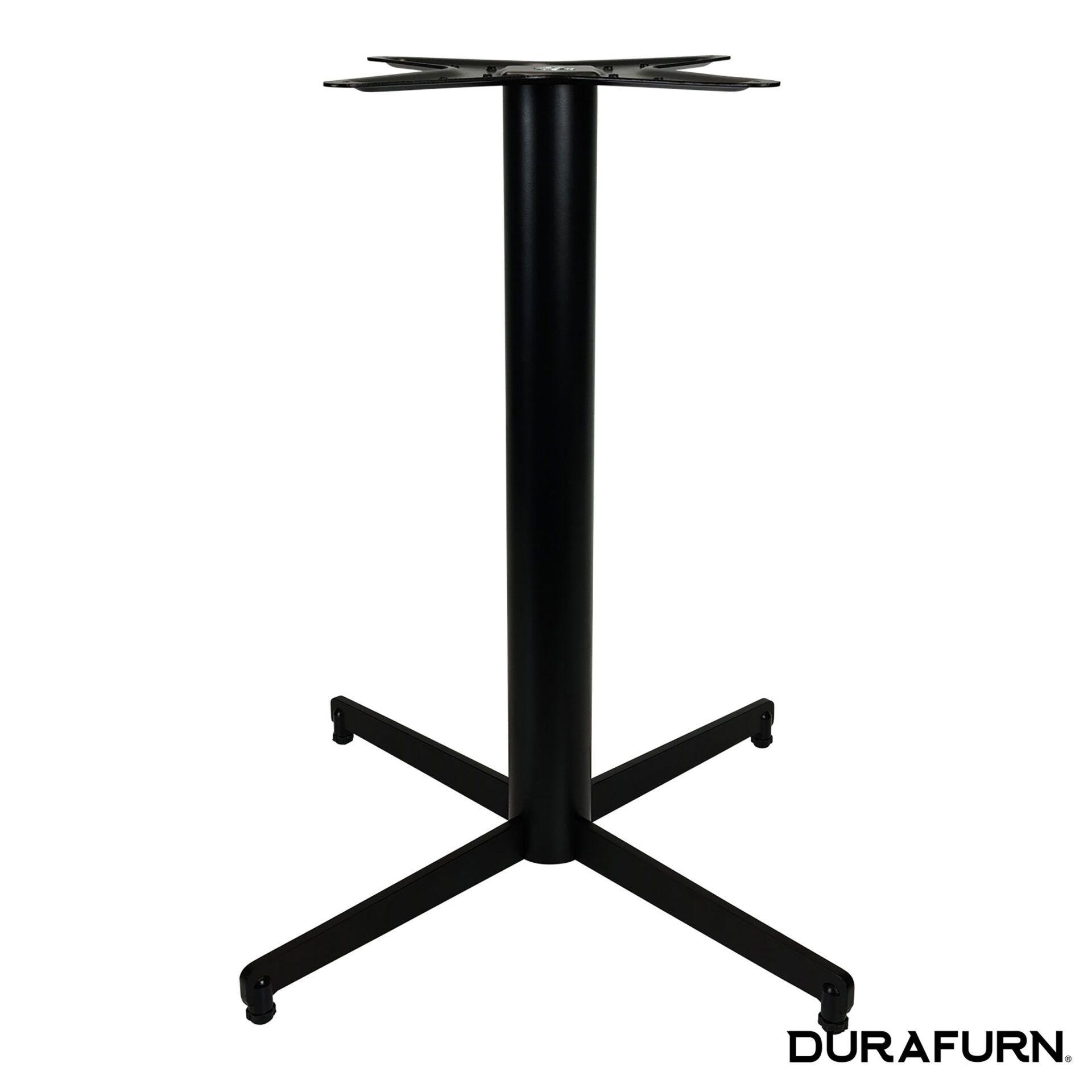 stockholm table base black front 1