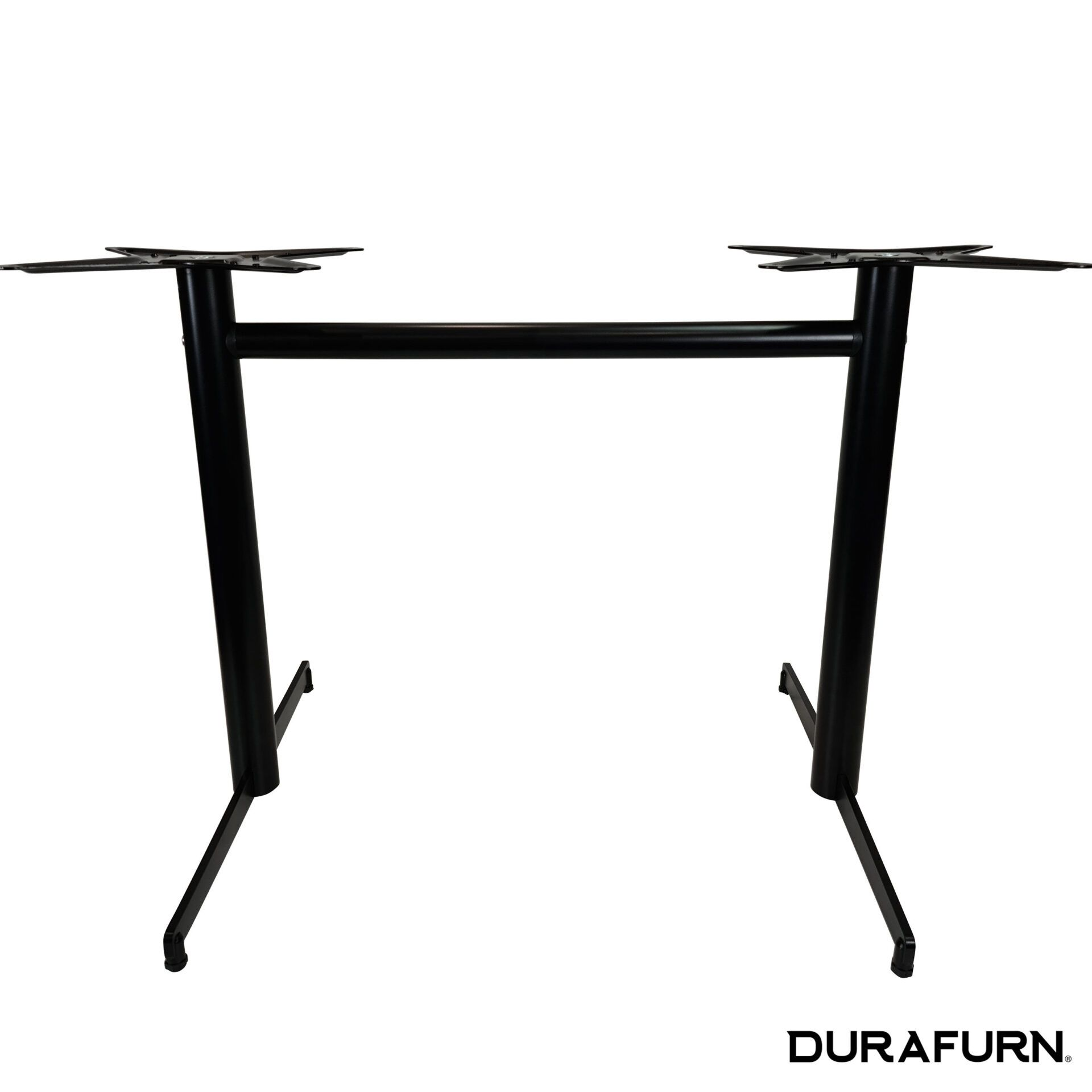 stockholm twin table base black.front 1