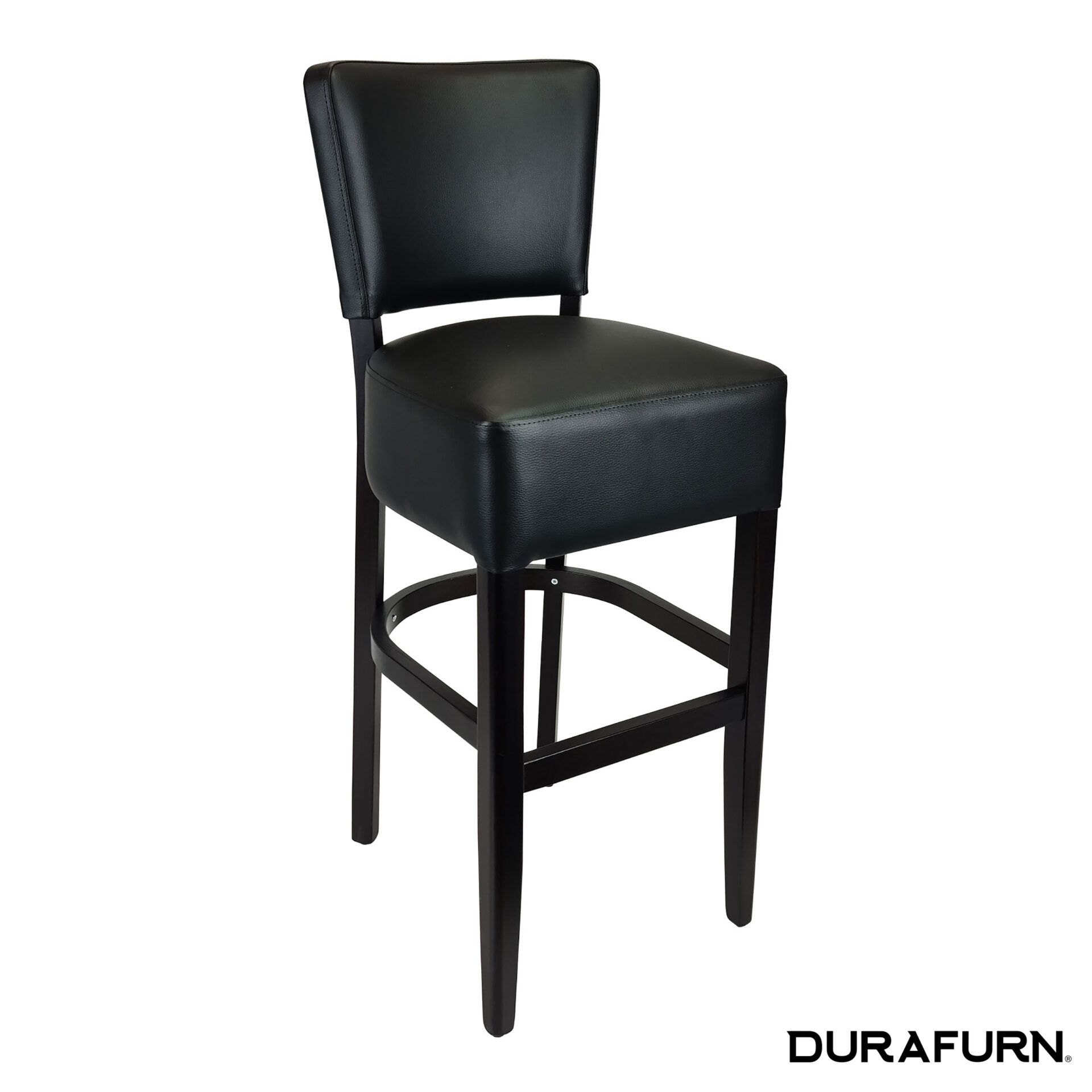 memphis club barstool wenge front side