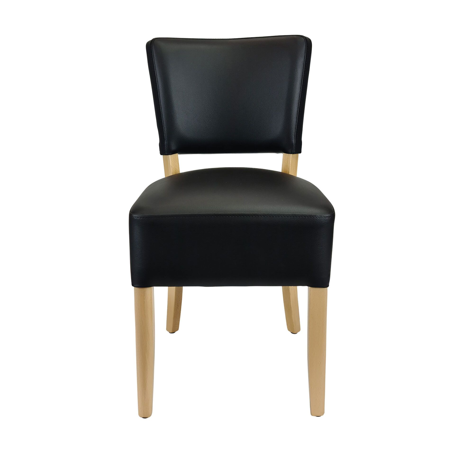 memphis club chair natural front