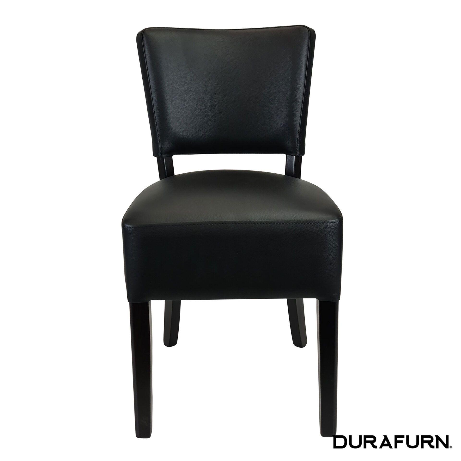 memphis club chair wenge front 1