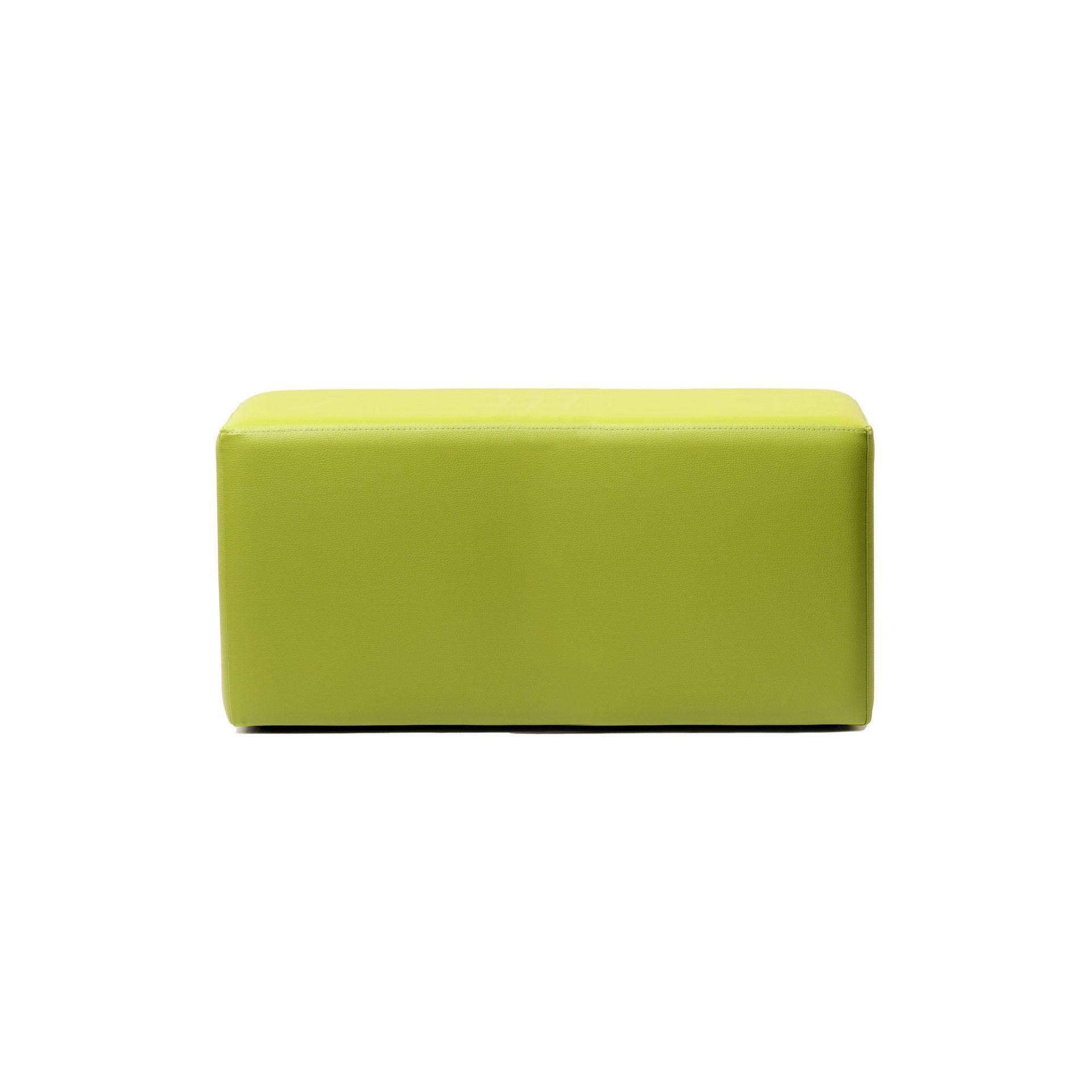 ottoman rectangle green01