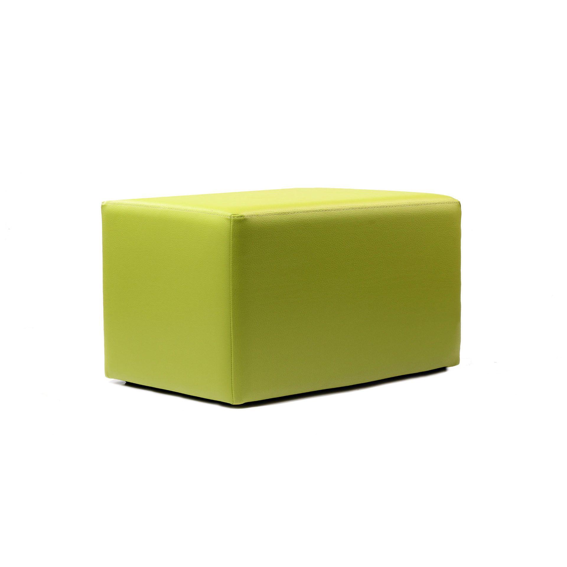 ottoman rectangle green02