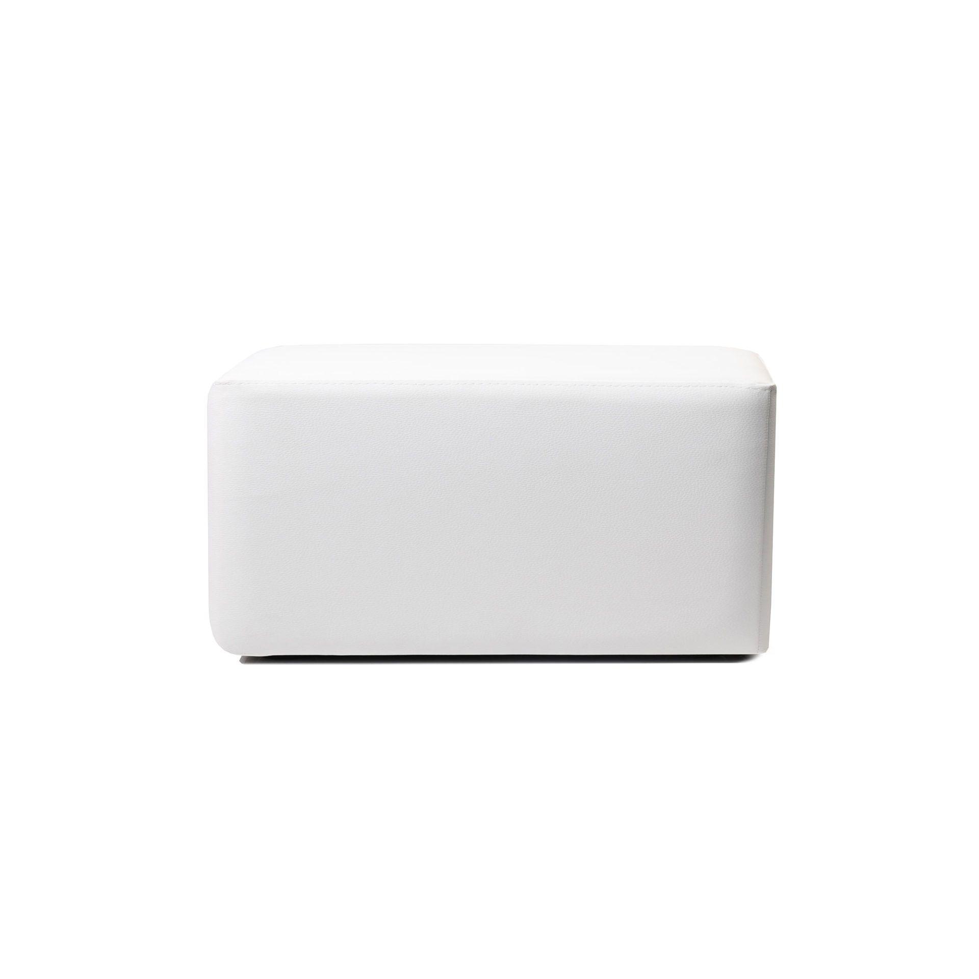 ottoman rectangle white01