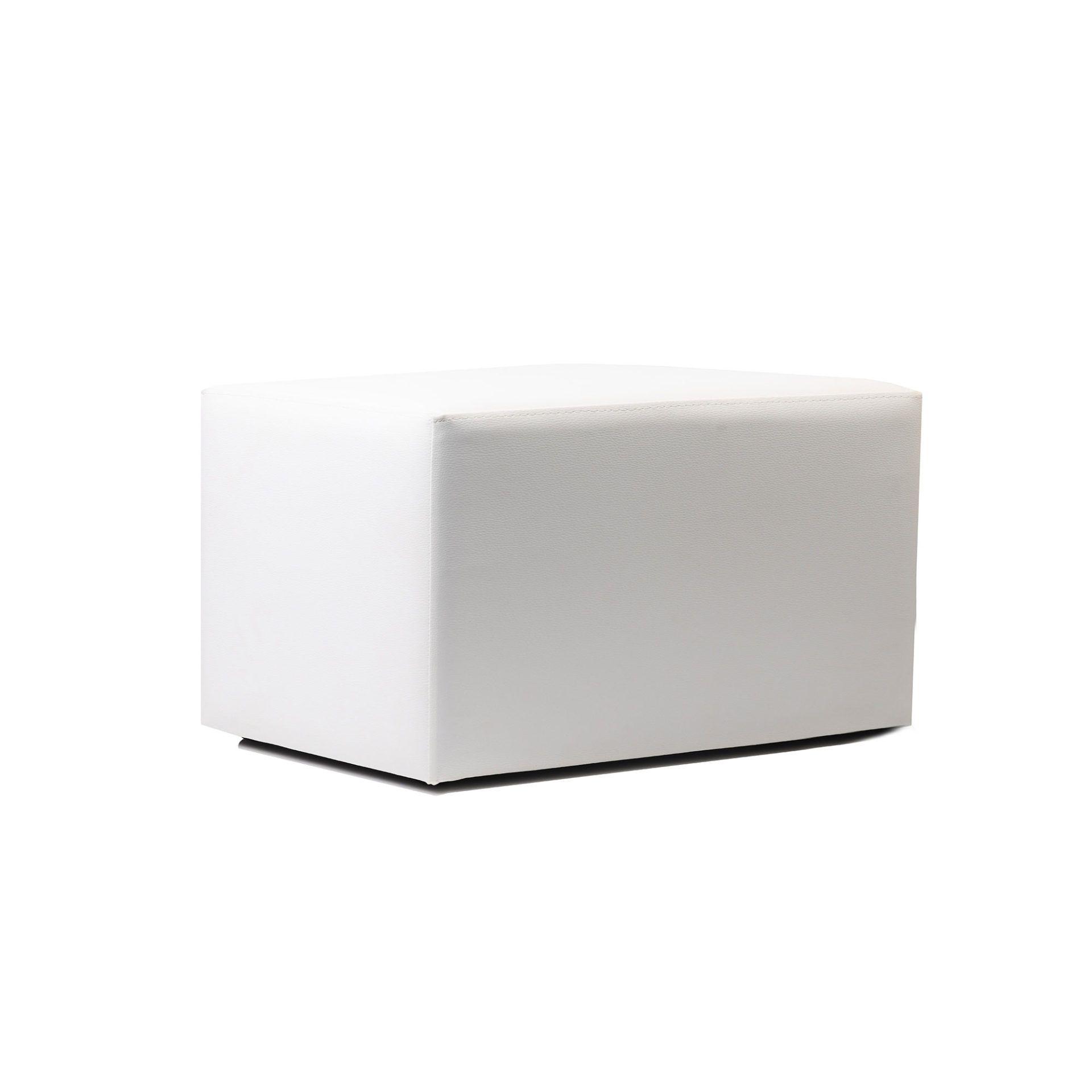 ottoman rectangle white02