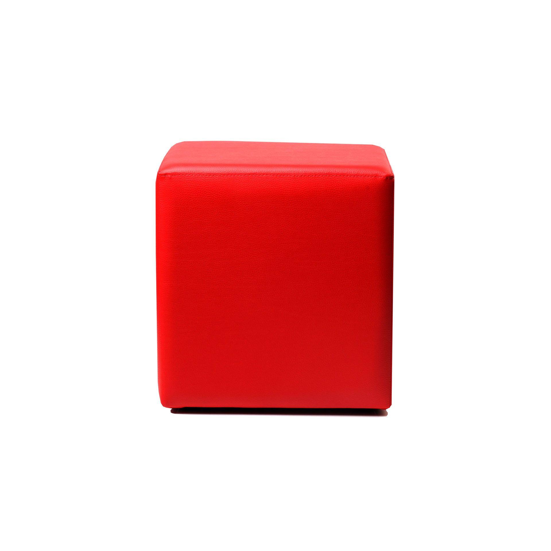 ottoman square red01