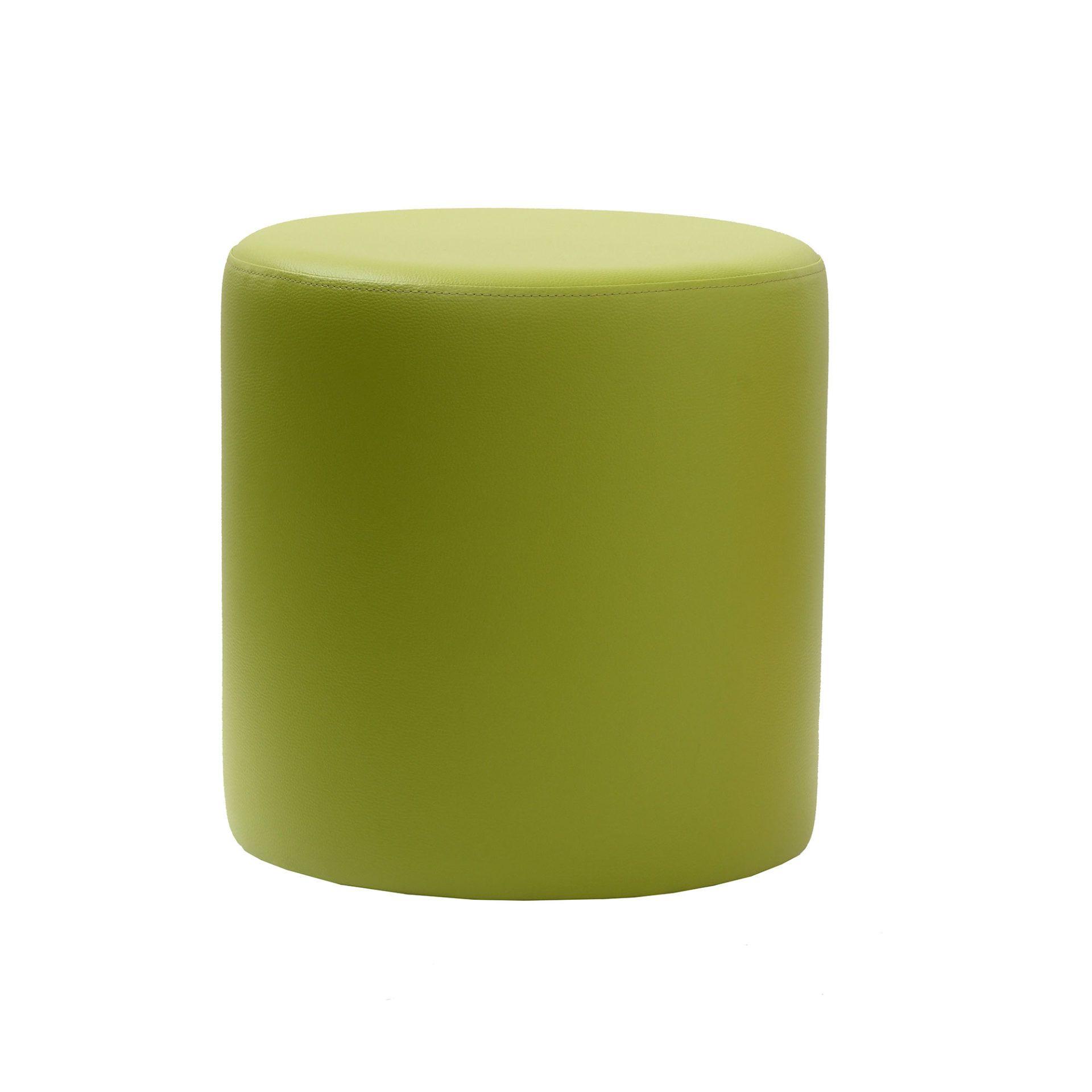 roundottoman green