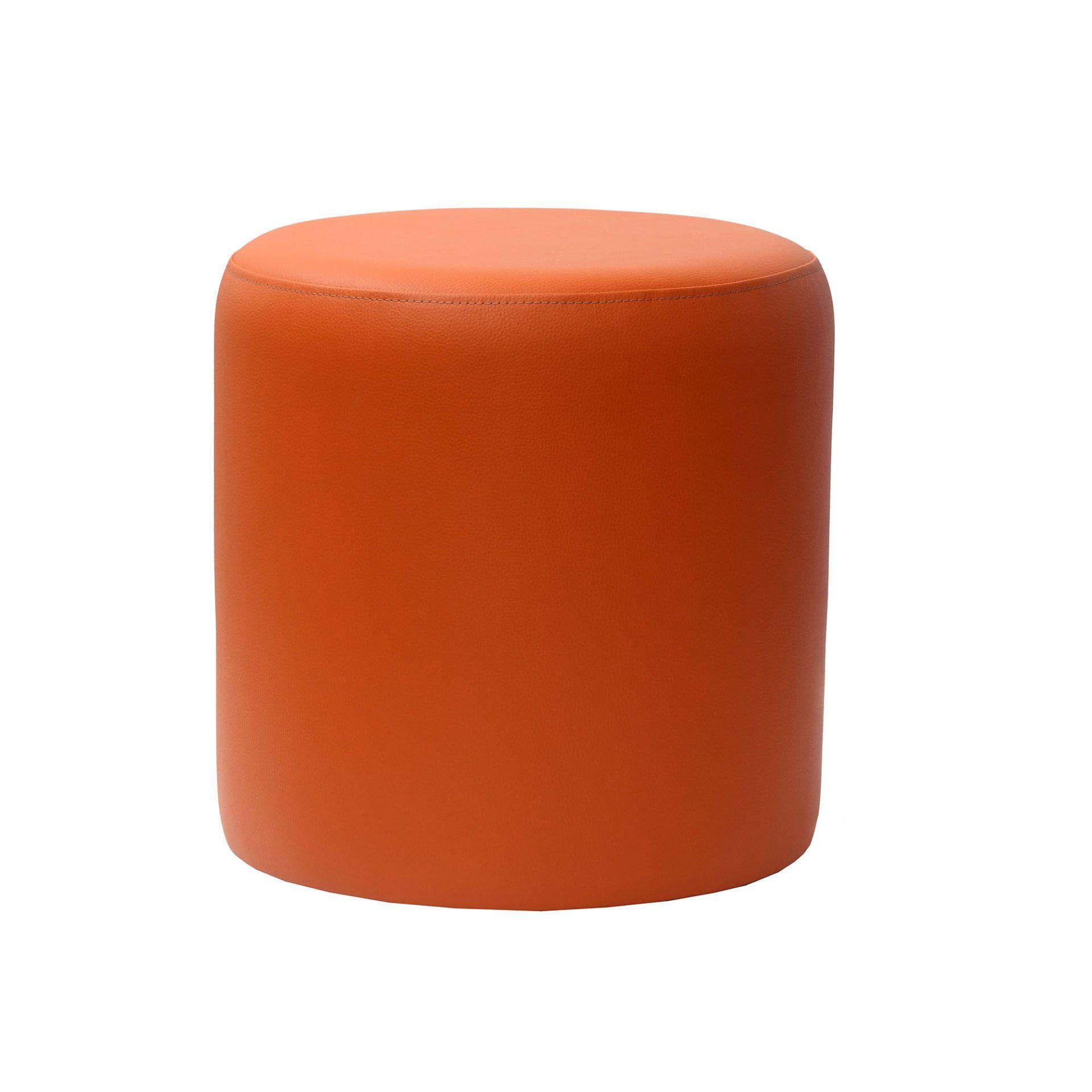 roundottoman orange