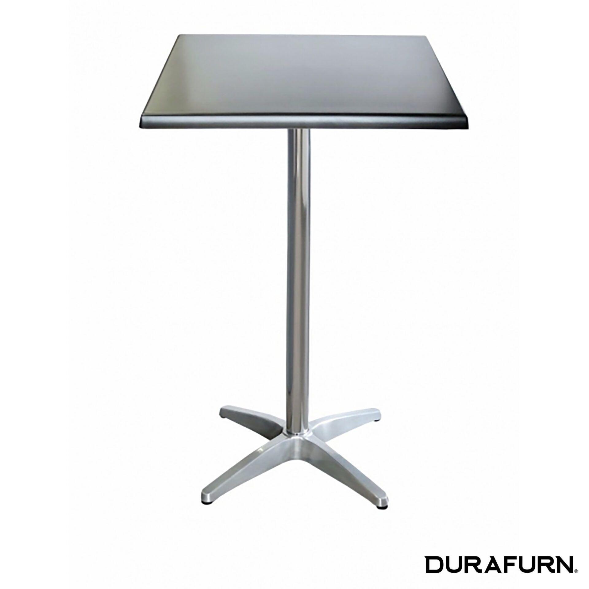 astoria aluminium bar height table base square tableo2to32