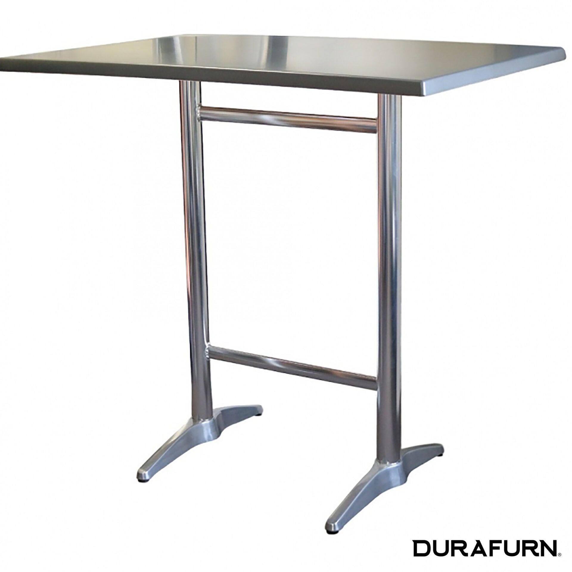 astoria aluminium twin bar table rectanglebgb43a 1