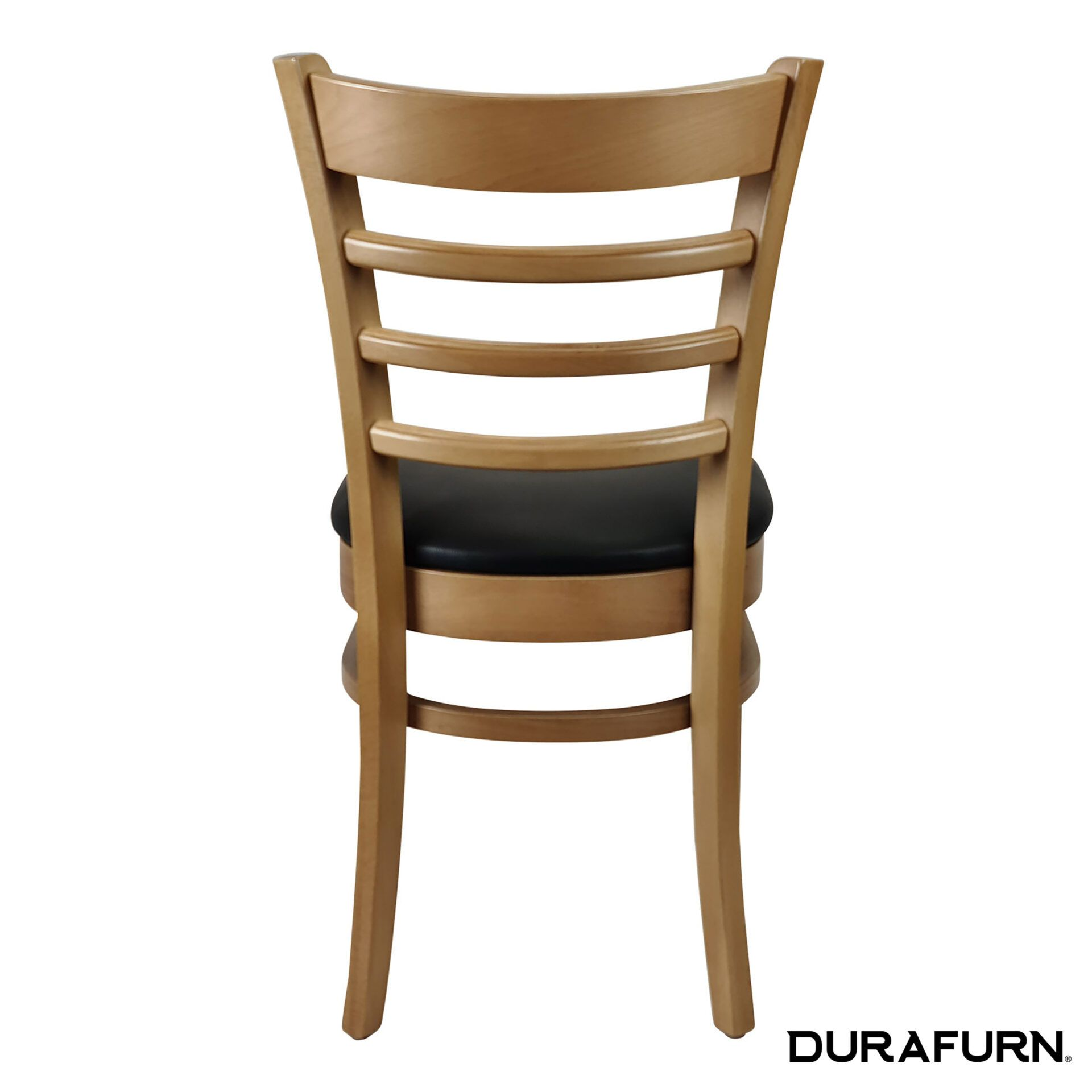 florence chair natural chocolate cushion back