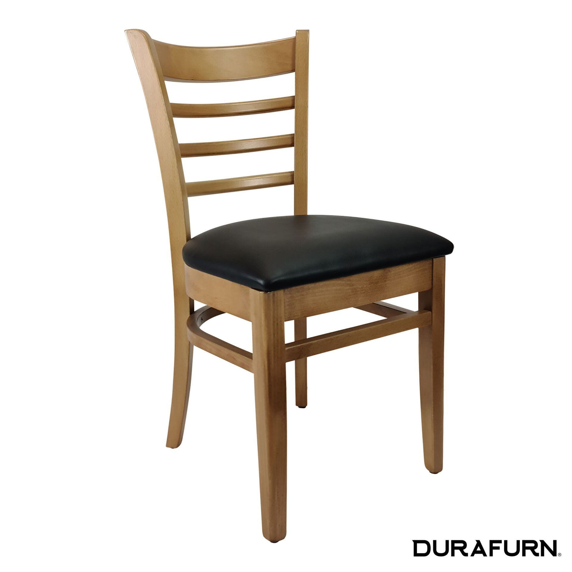 florence chair natural chocolate cushion front side