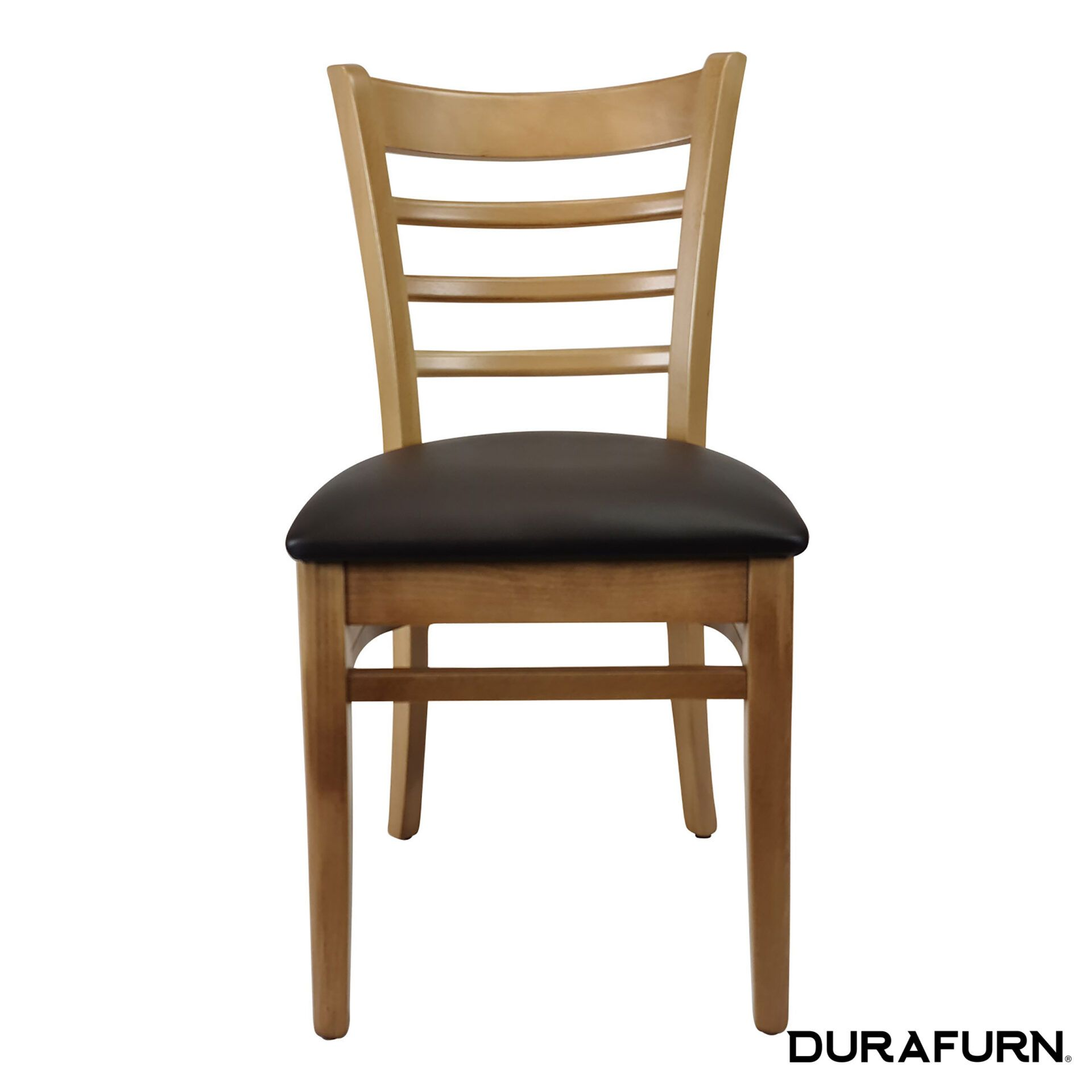 florence chair natural chocolate cushion front