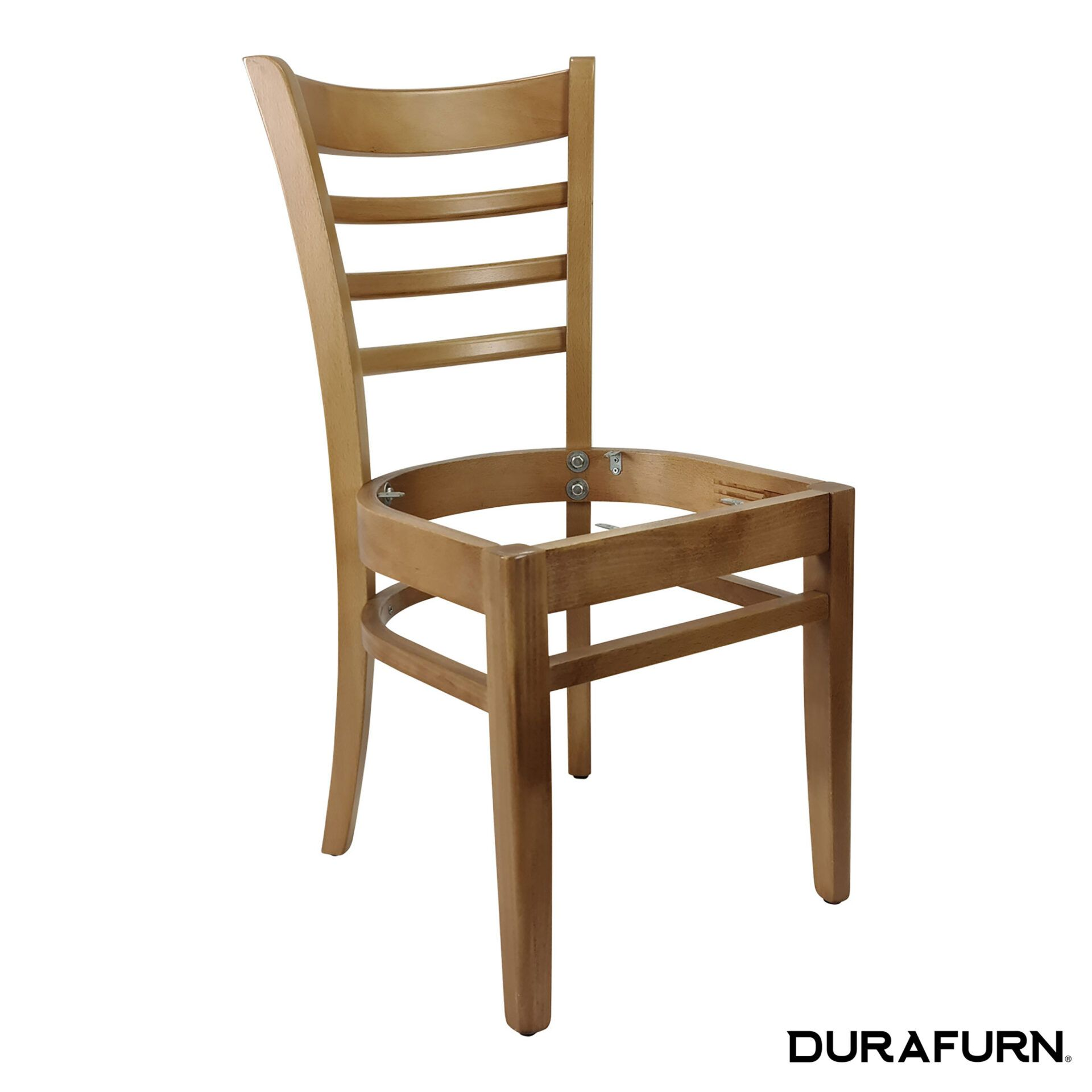 florence chair natural noseat front side