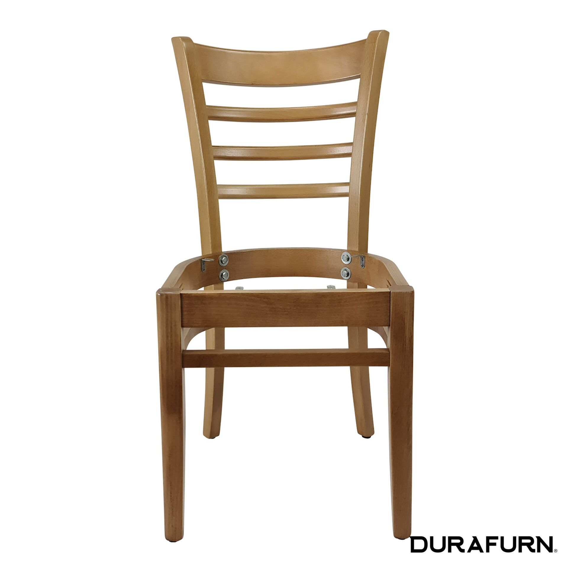 florence chair natural noseat front
