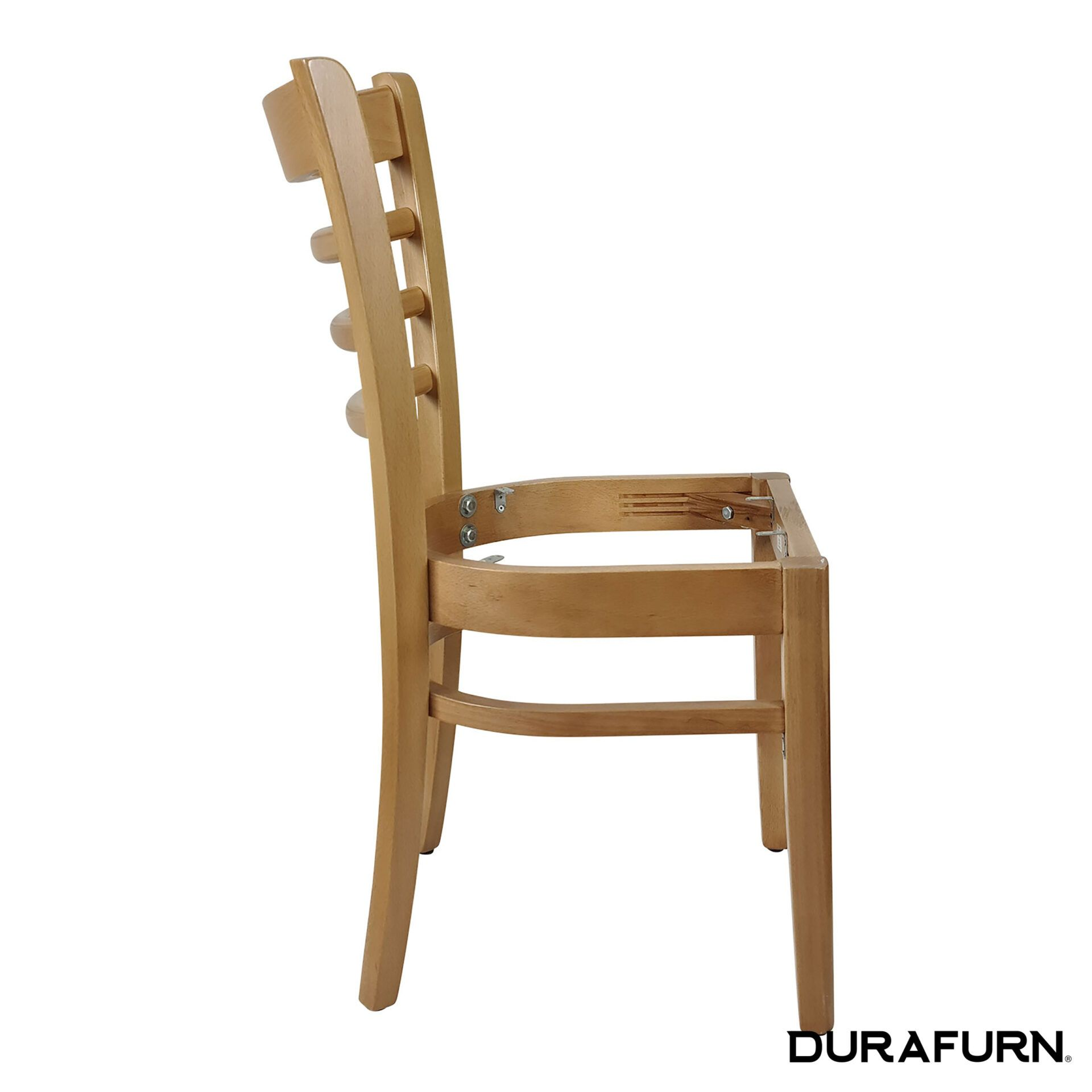 florence chair natural noseat side