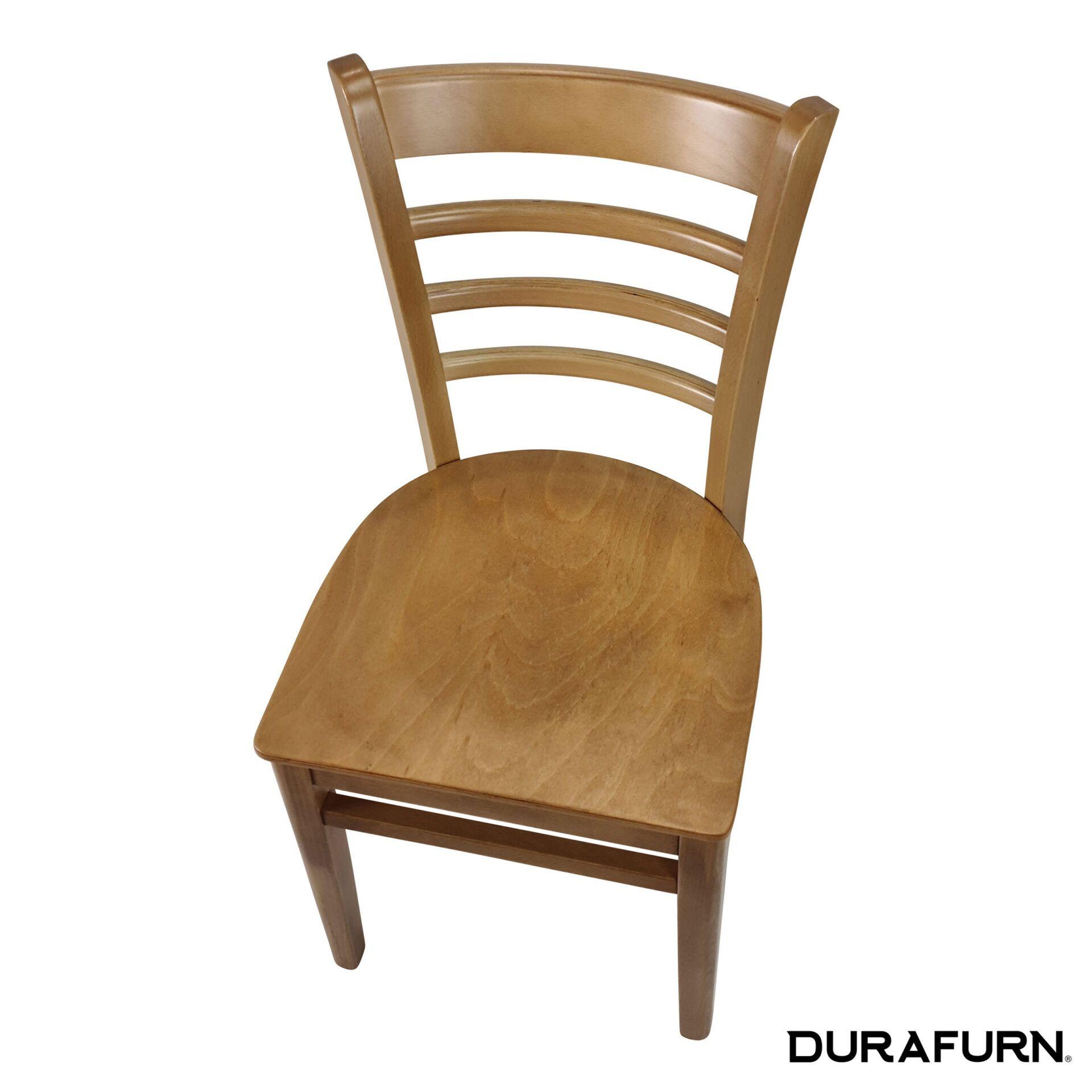 florence chair natural top angle