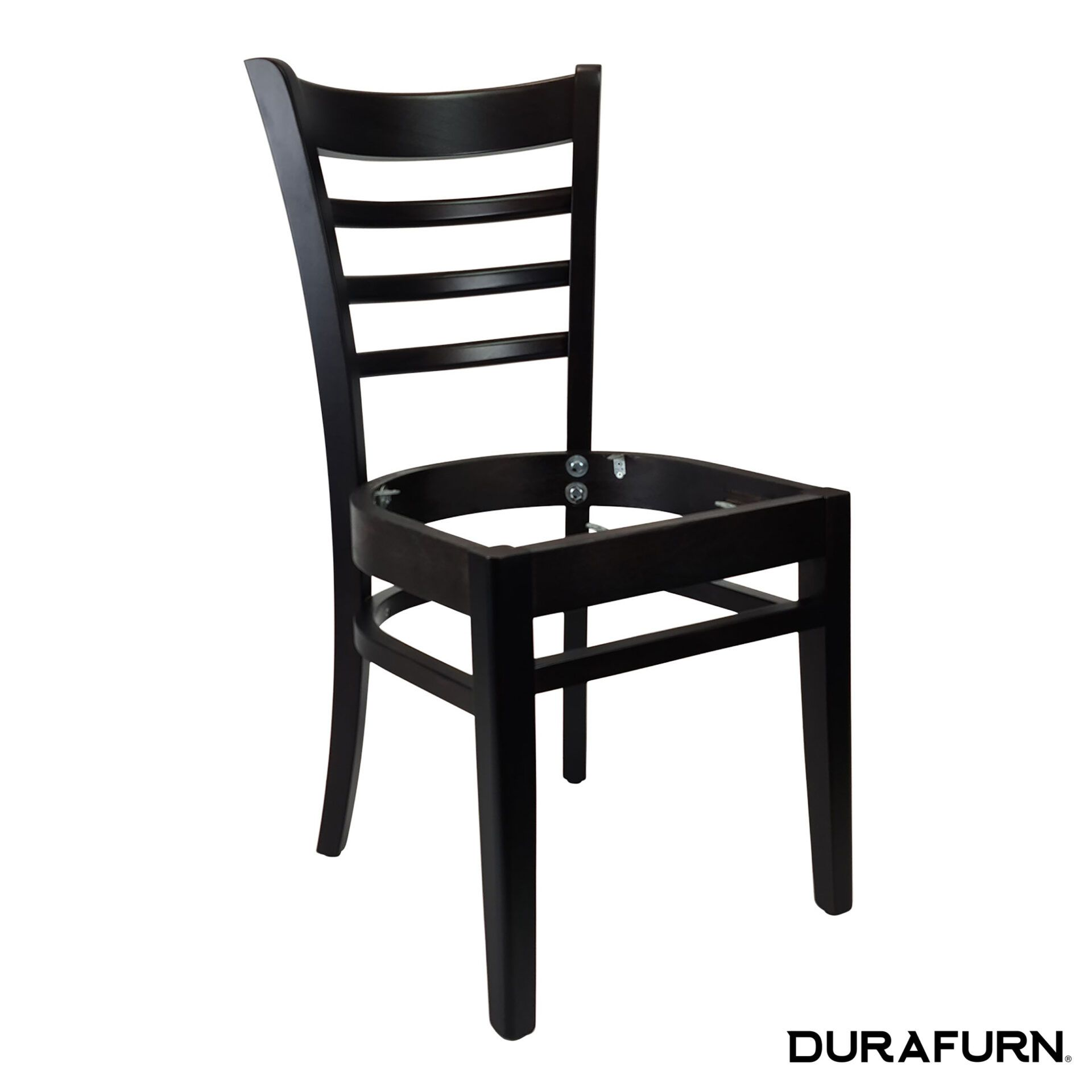 florence chair wenge noseat front side
