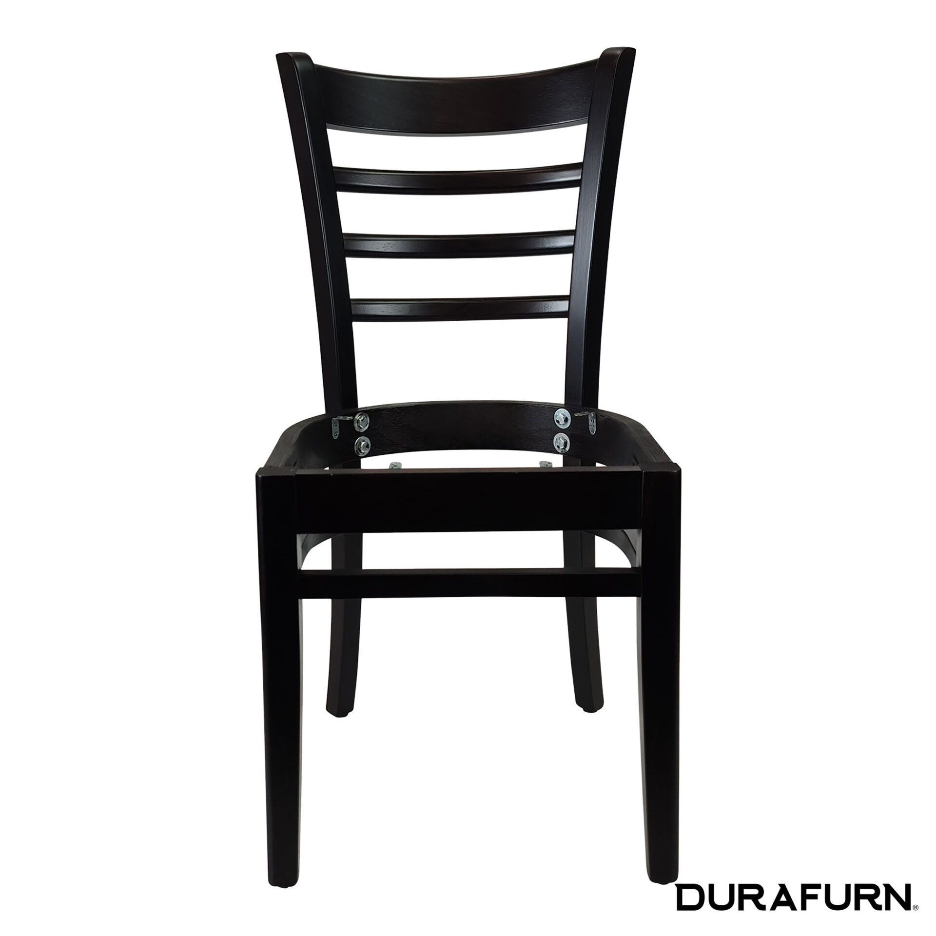 florence chair wenge noseat front