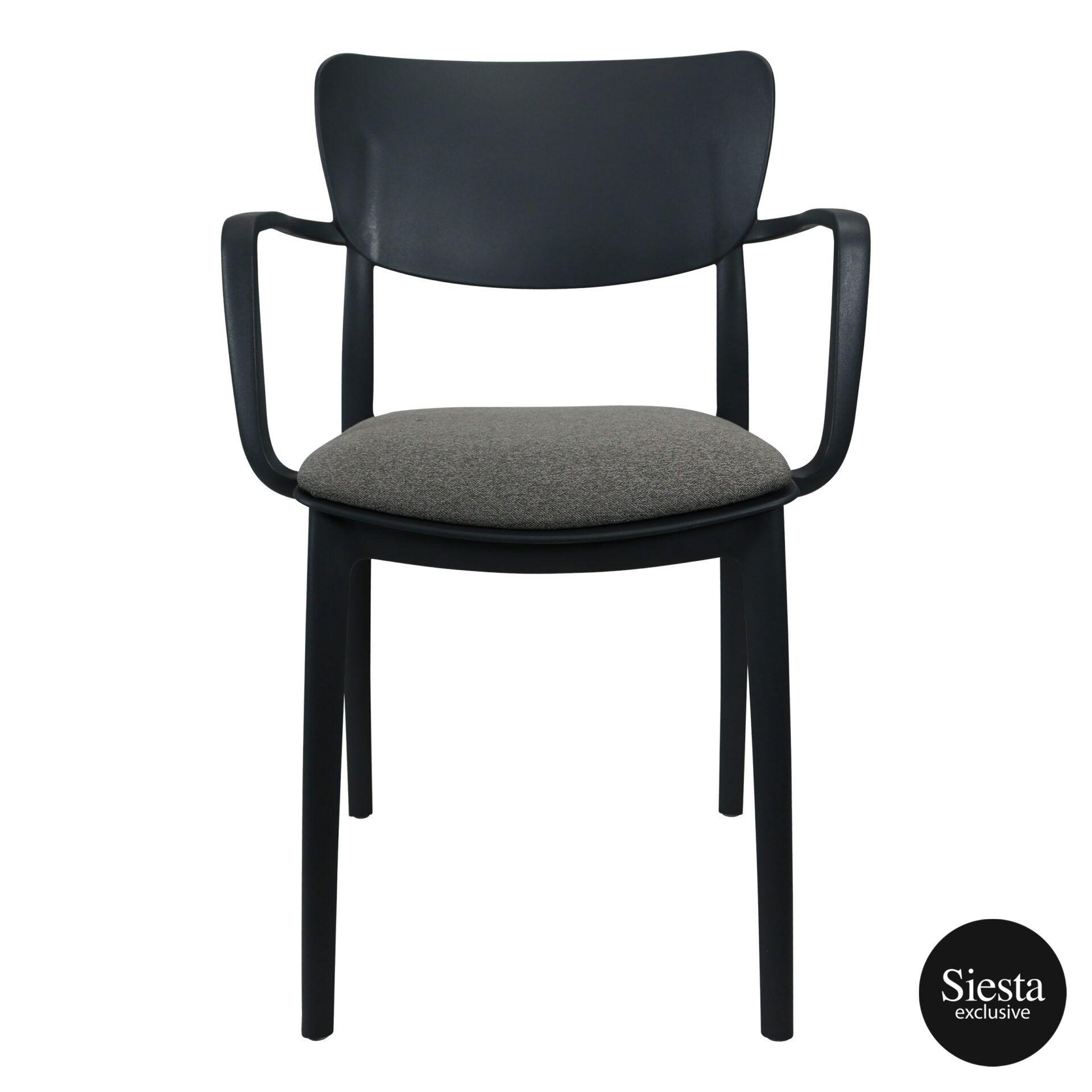 lisa armchair anthracite c1