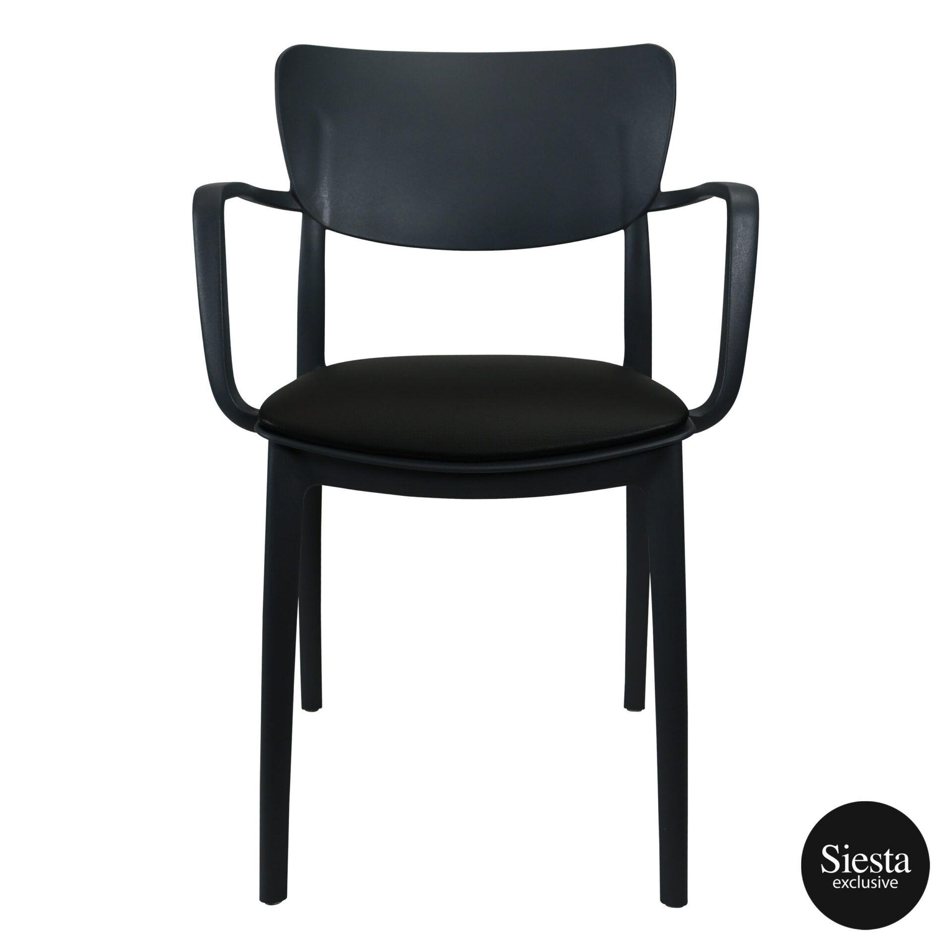 lisa armchair anthracite c2