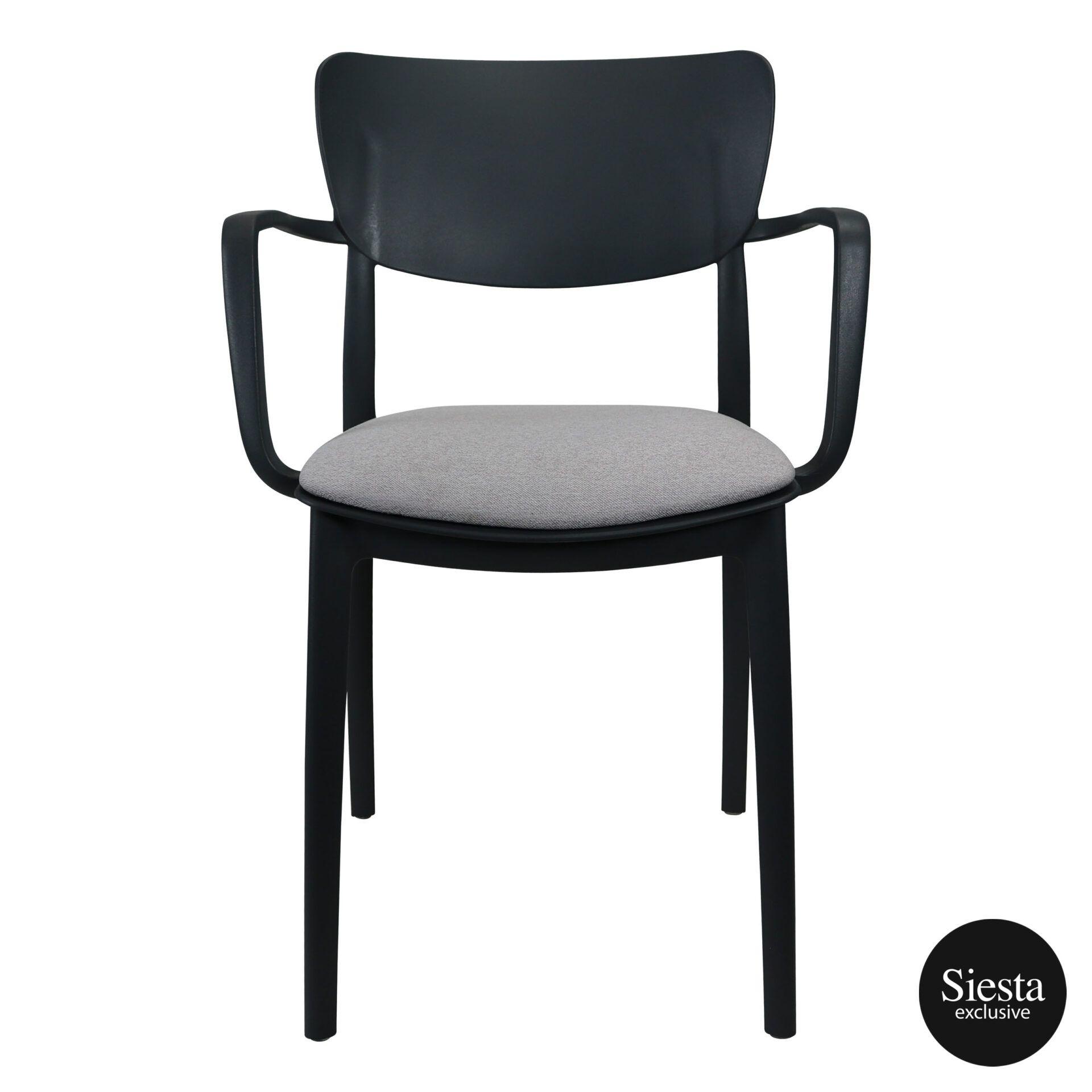 lisa armchair anthracite c3
