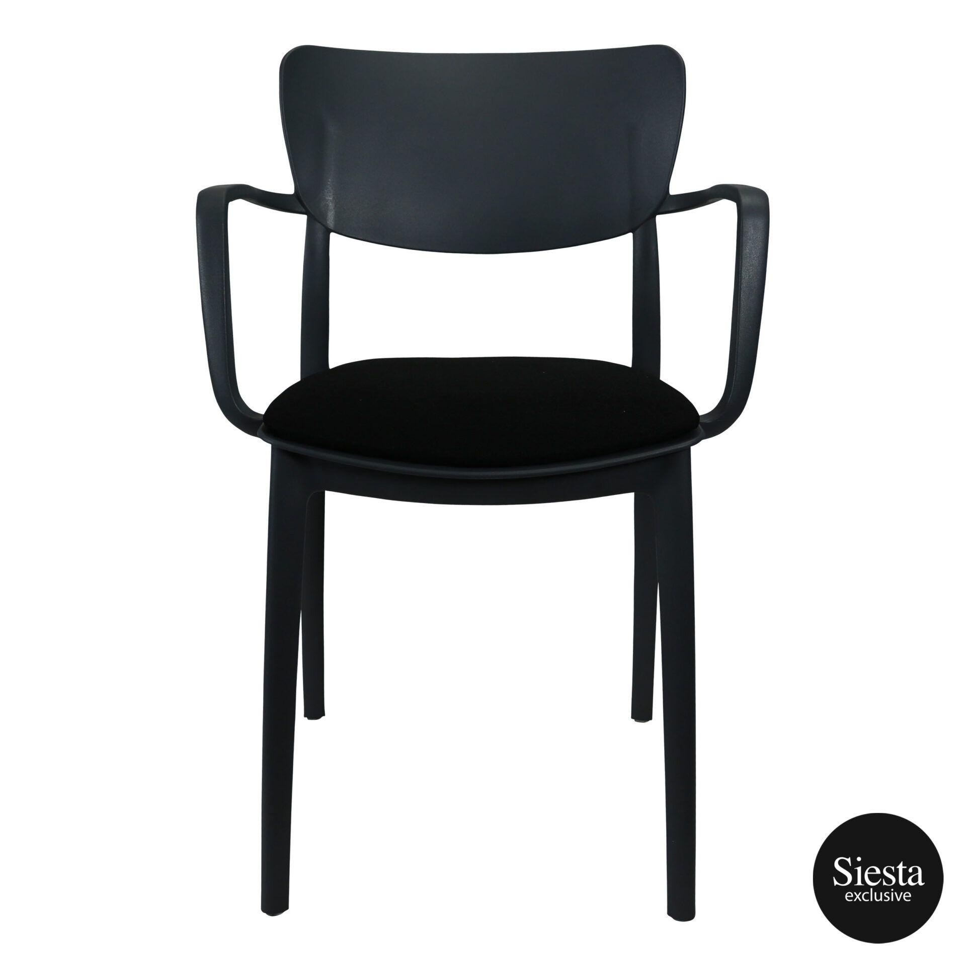 lisa armchair anthracite c4