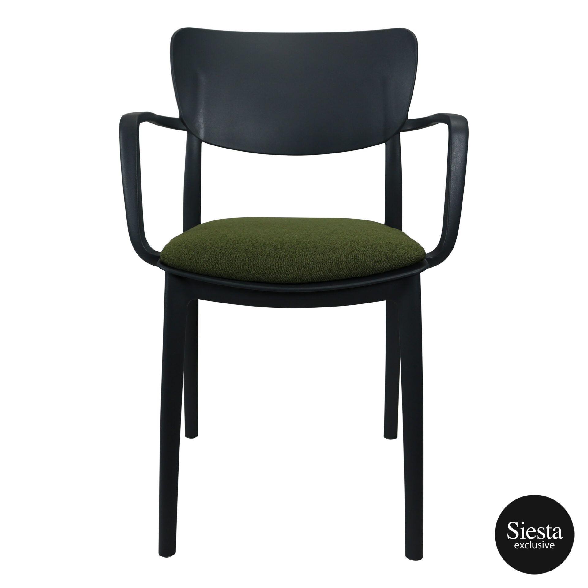 lisa armchair anthracite c5