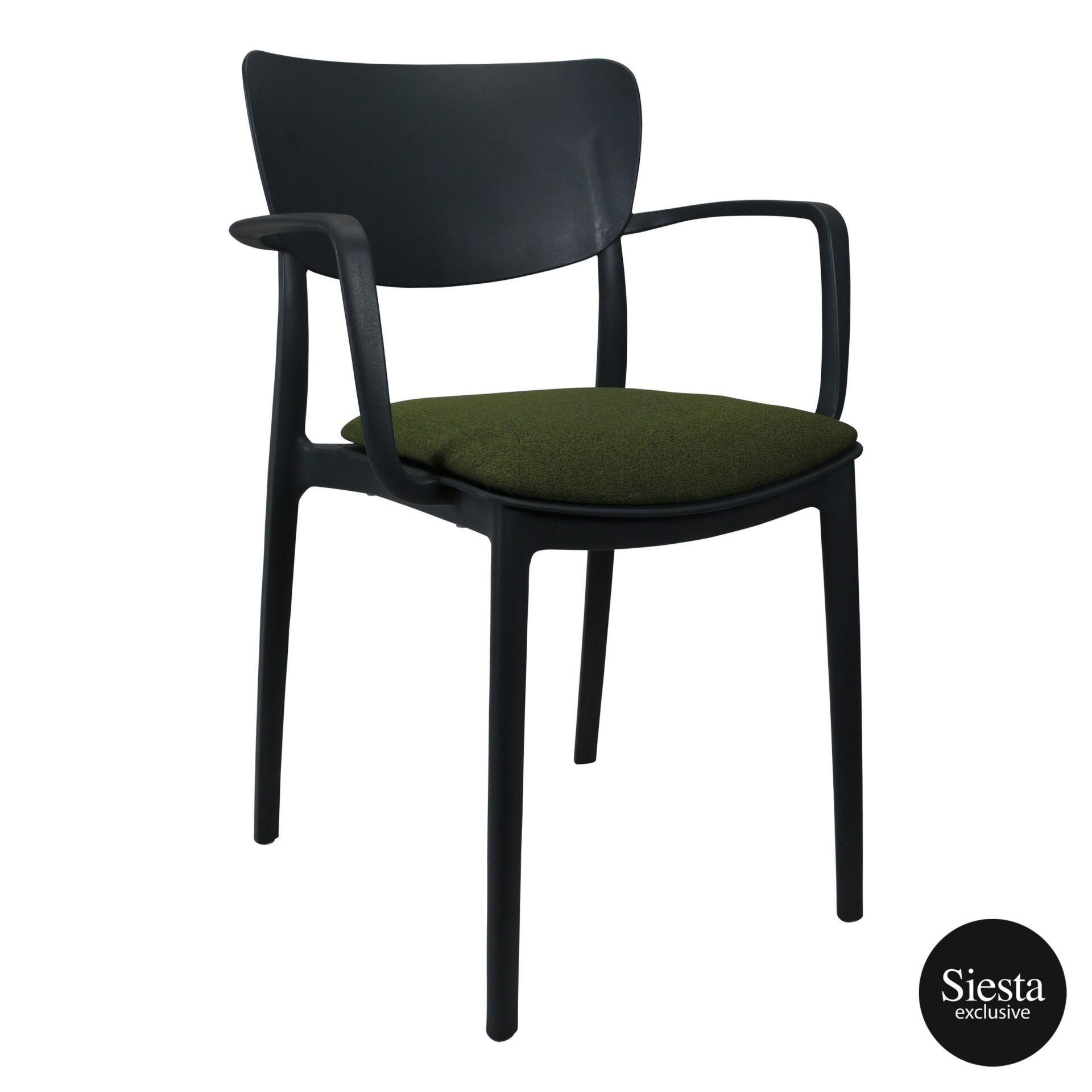 lisa armchair anthracite c5a