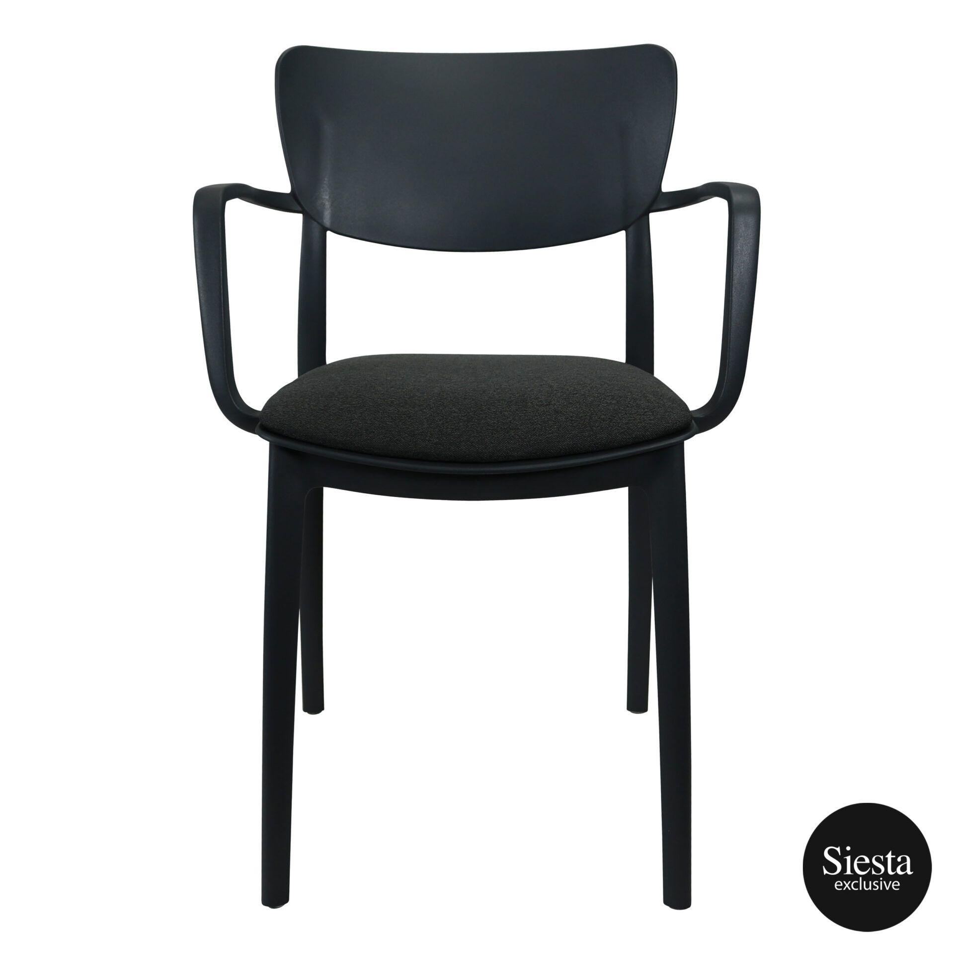 lisa armchair anthracite c6