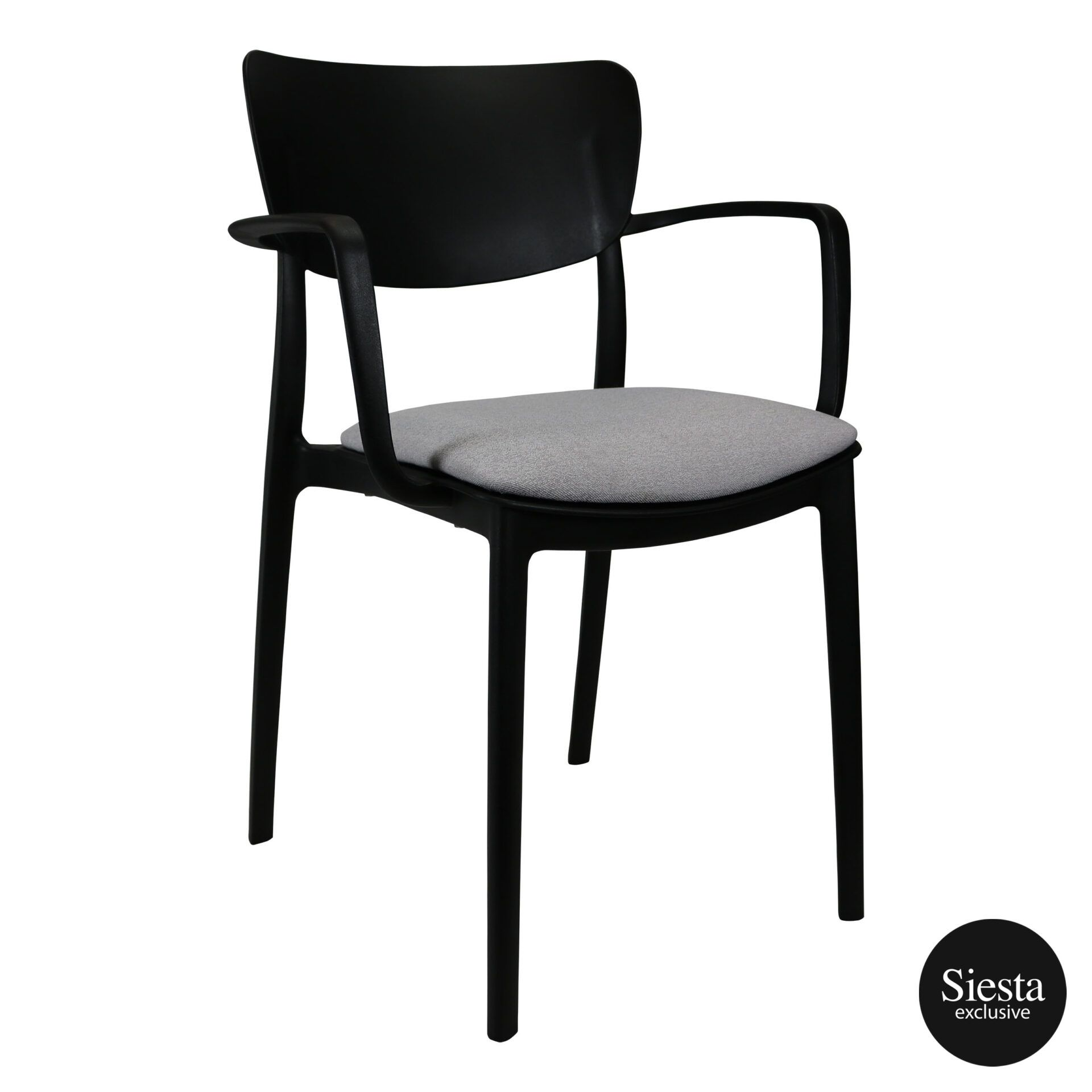 lisa armchair black c2a