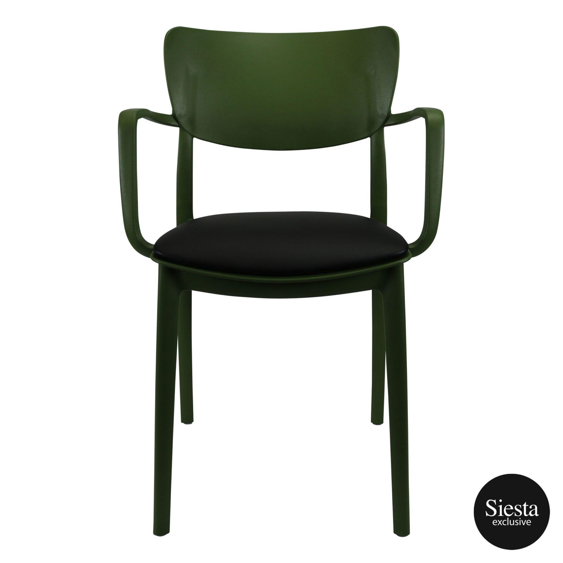 lisa armchair olivegreen c1