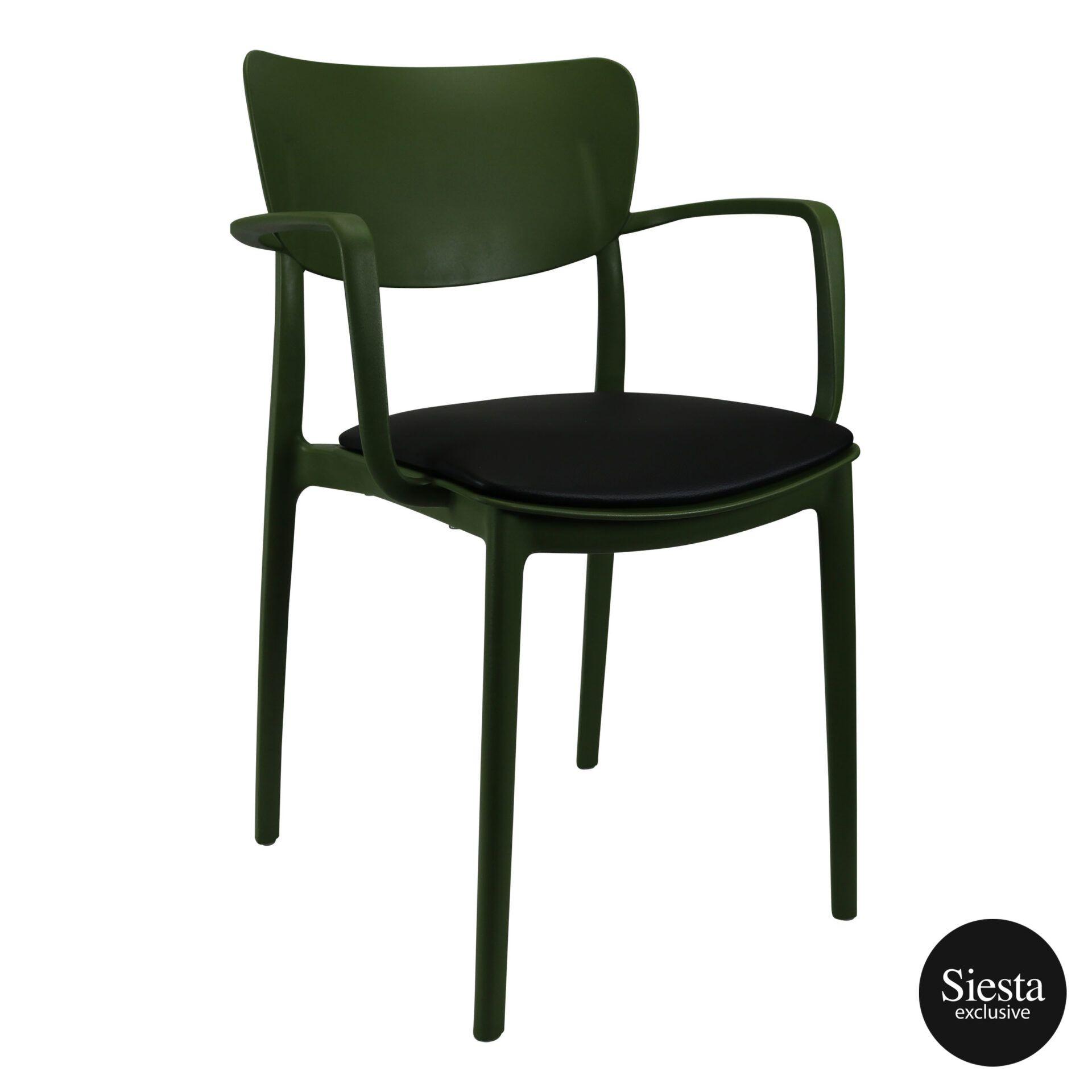 lisa armchair olivegreen c1a