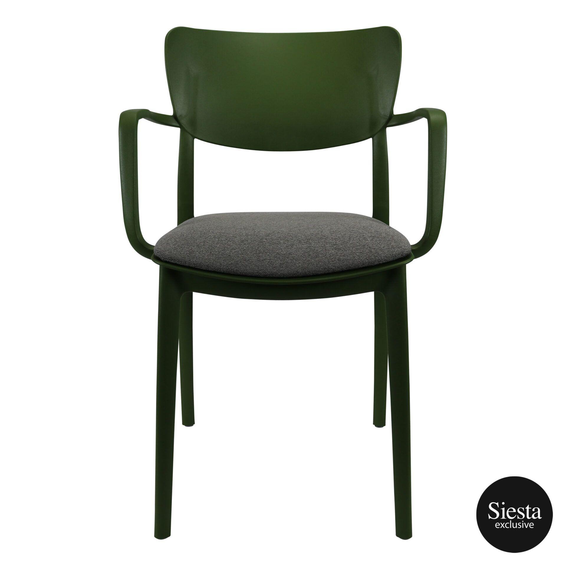 lisa armchair olivegreen c3