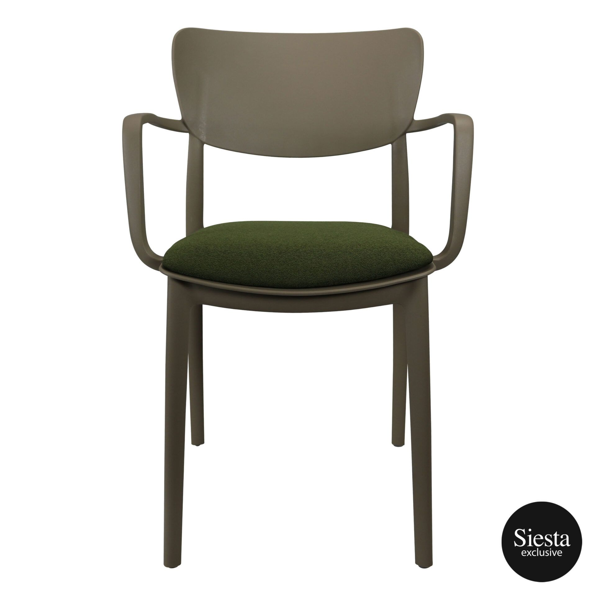 lisa armchair taupe c5