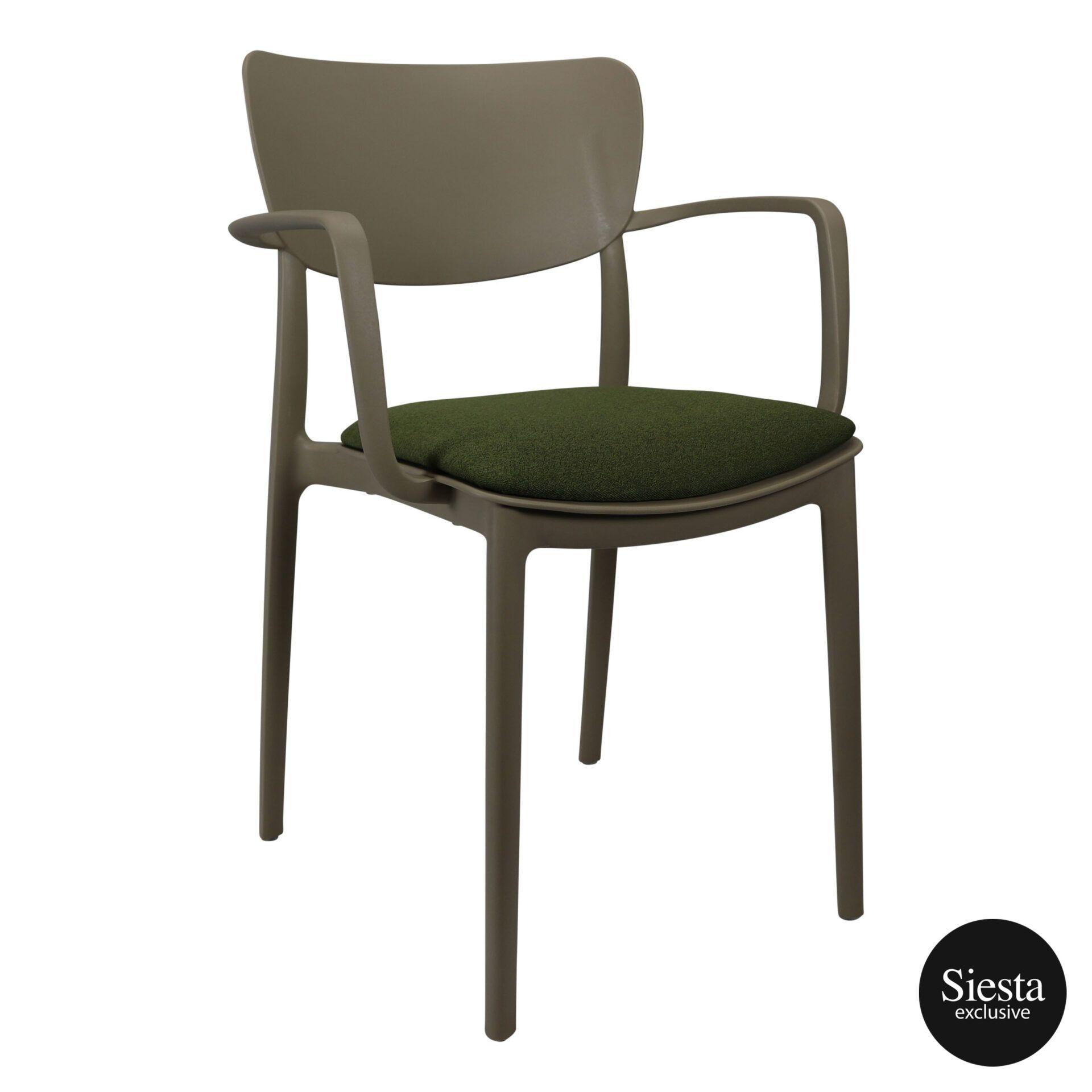 lisa armchair taupe c5a