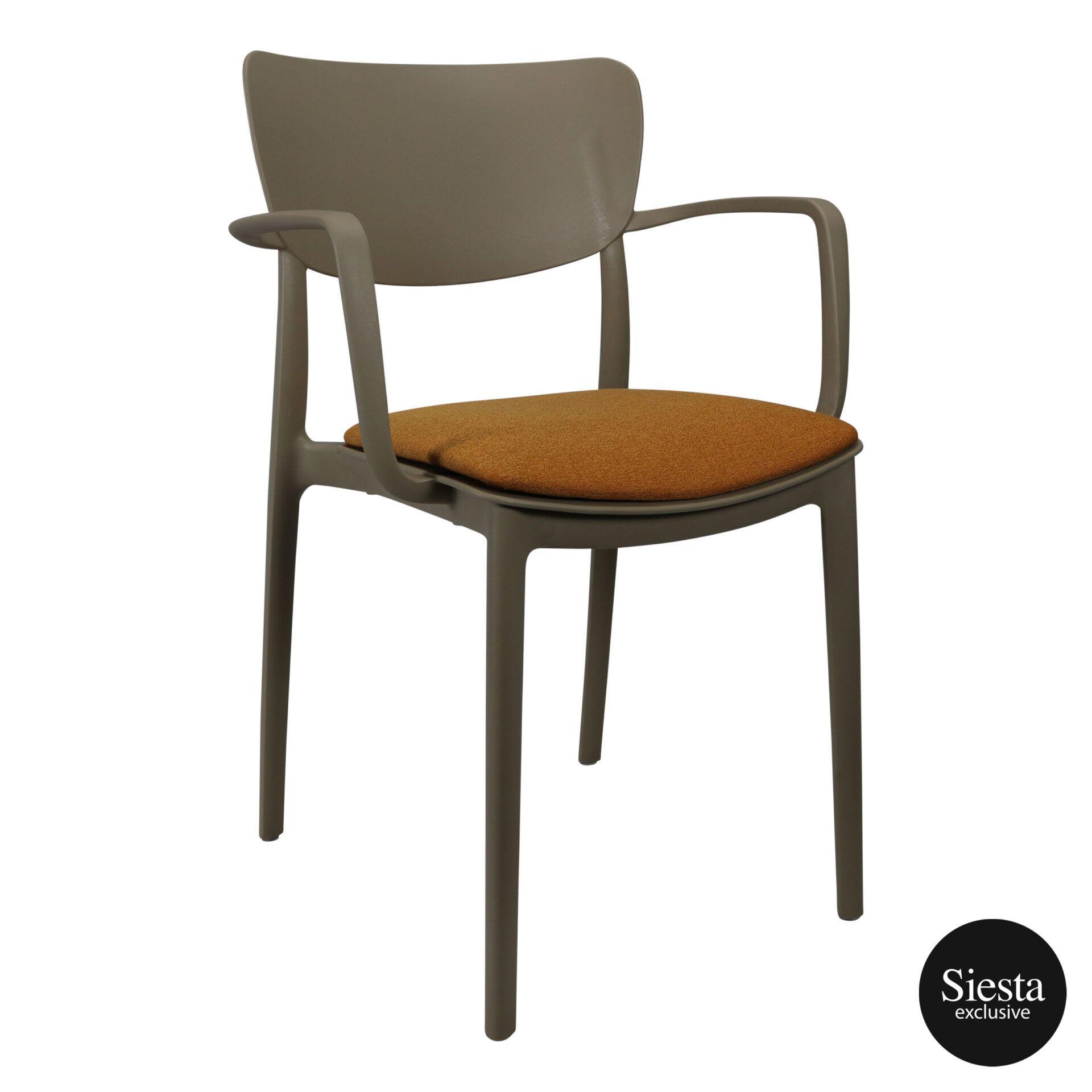lisa armchair taupe c7a