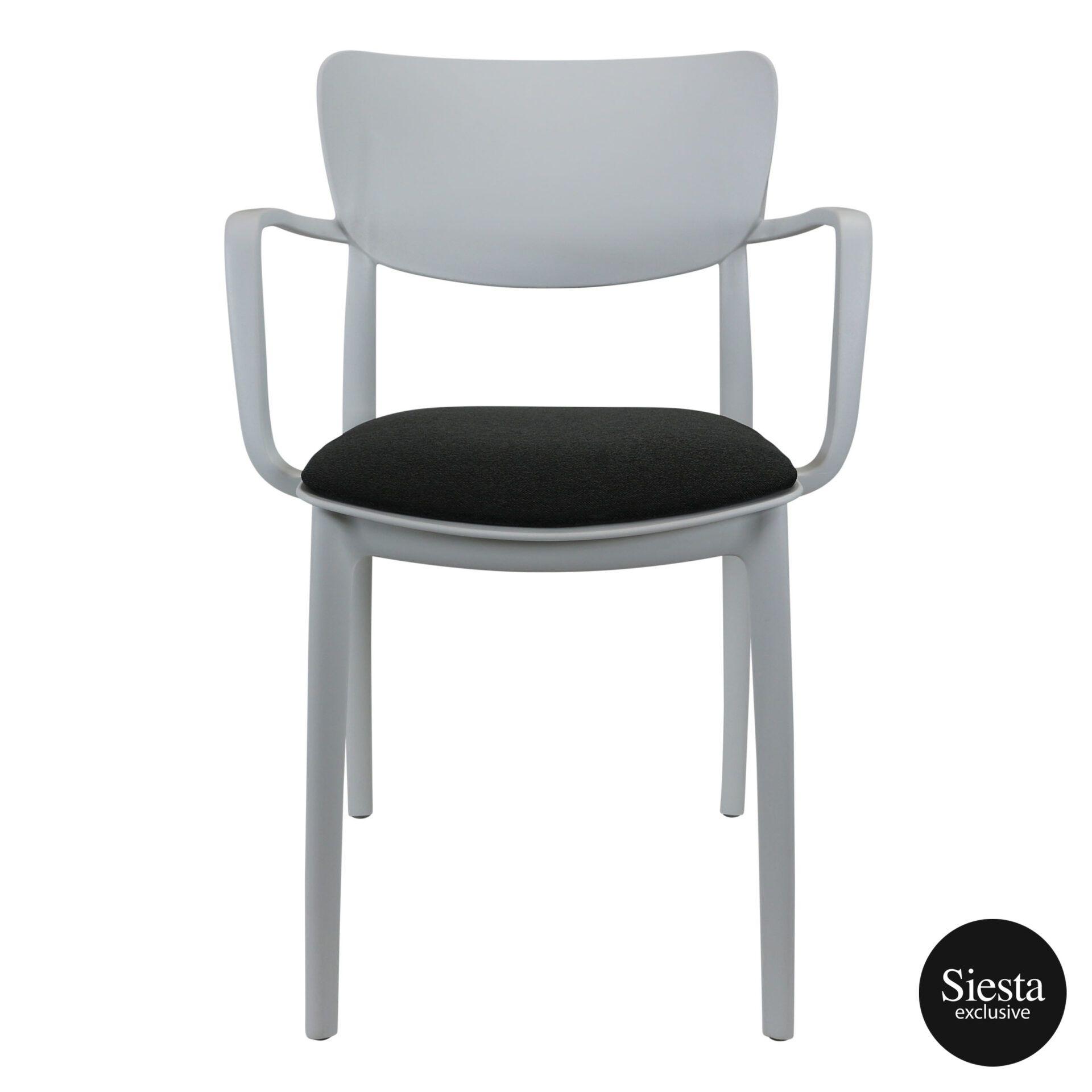 lisa armchair white c6