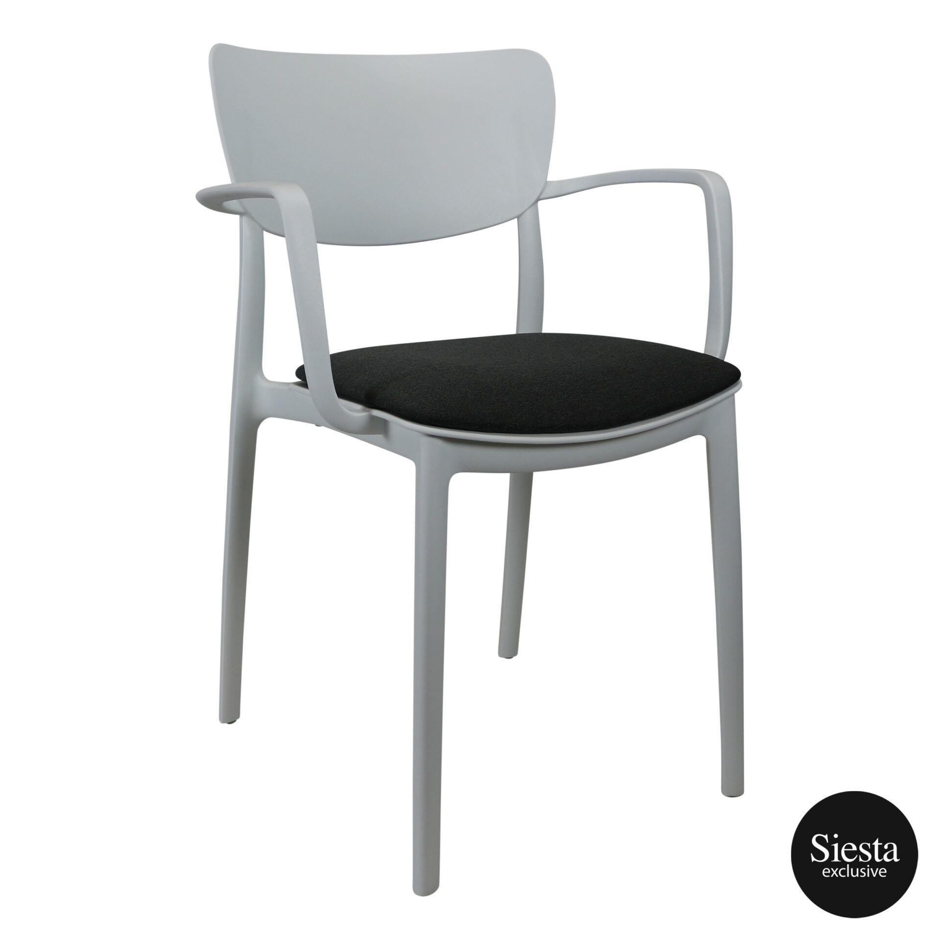 lisa armchair white c6a