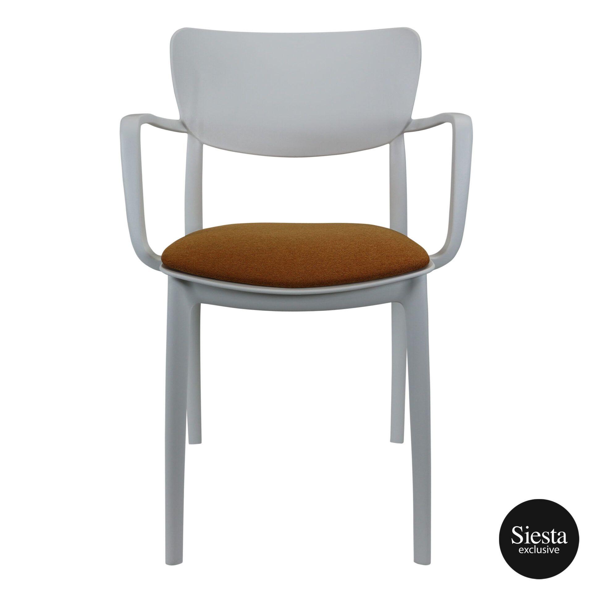 lisa armchair white c7
