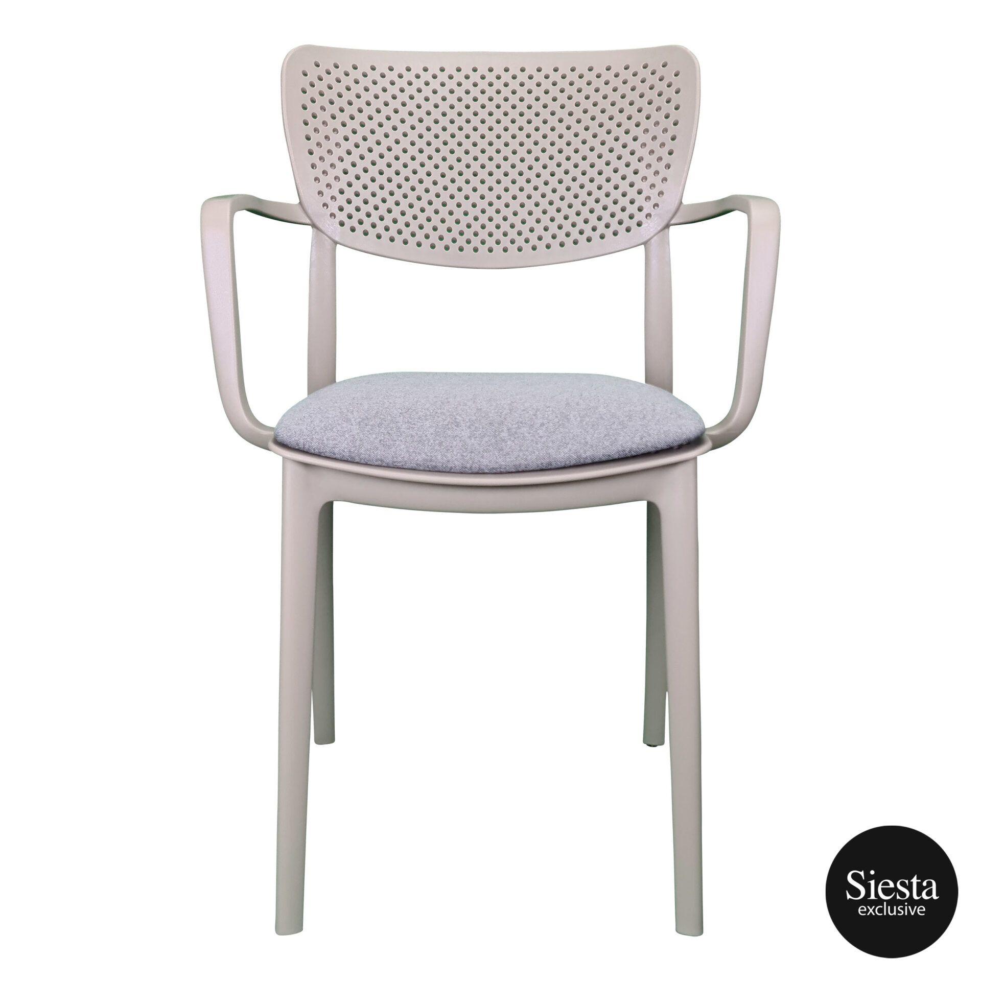 loft armchair taupe c1